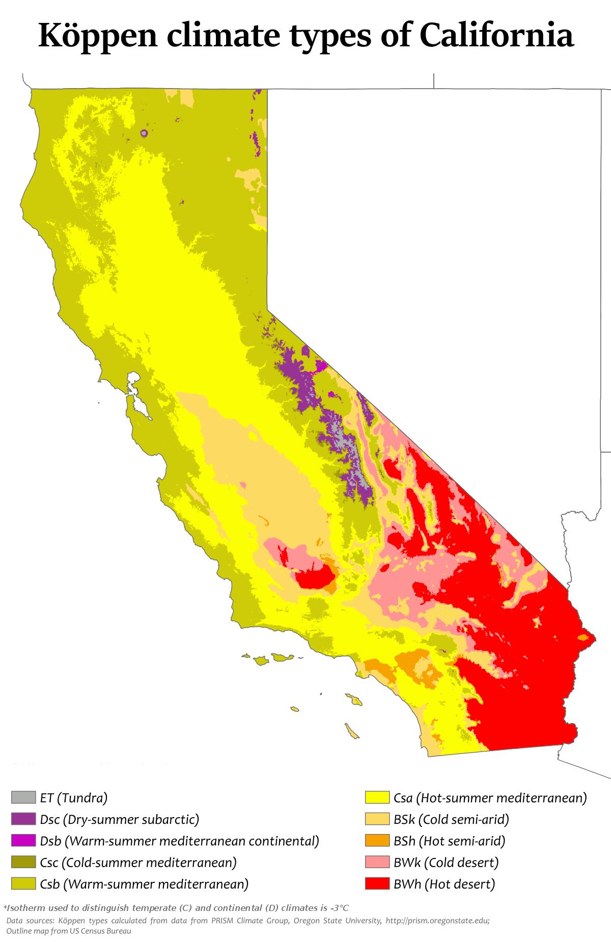 Climate of California - Wikipedia