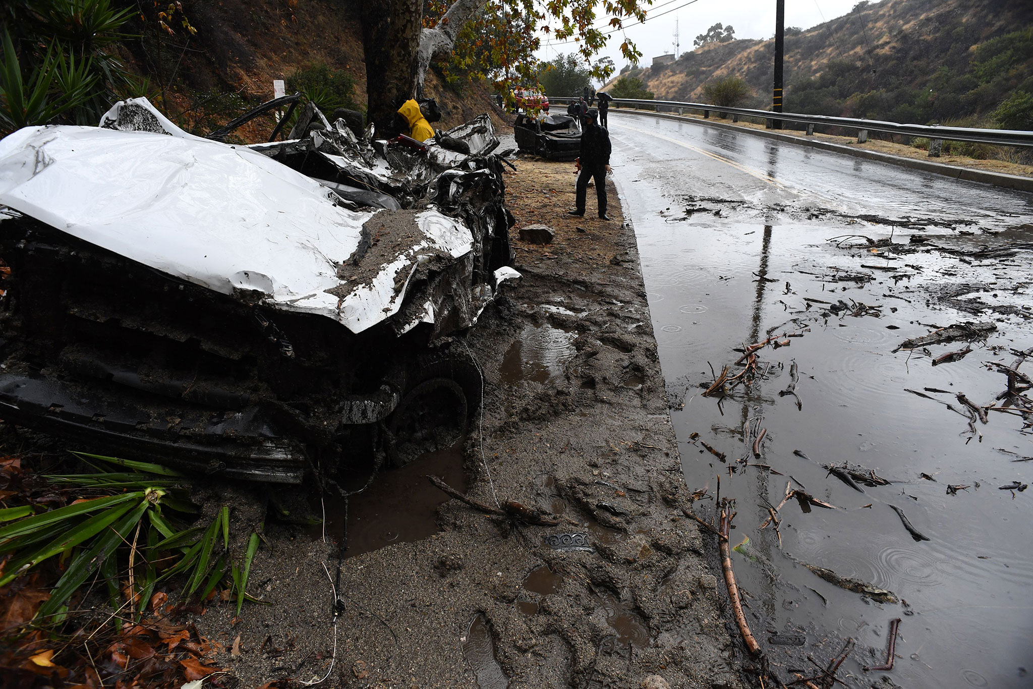 Mudslides Are Drowning California—The State's Extreme Weather Explained