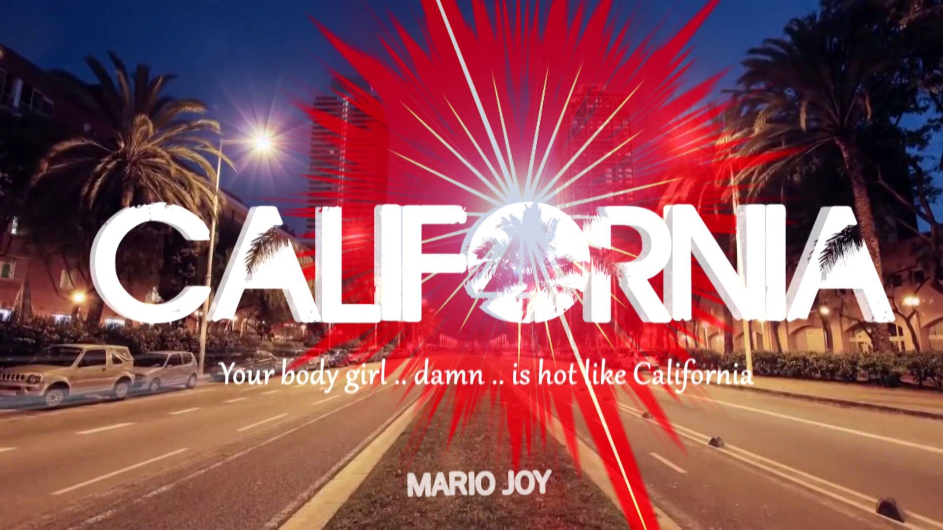 Mario Joy - California (Lyric video) - YouTube