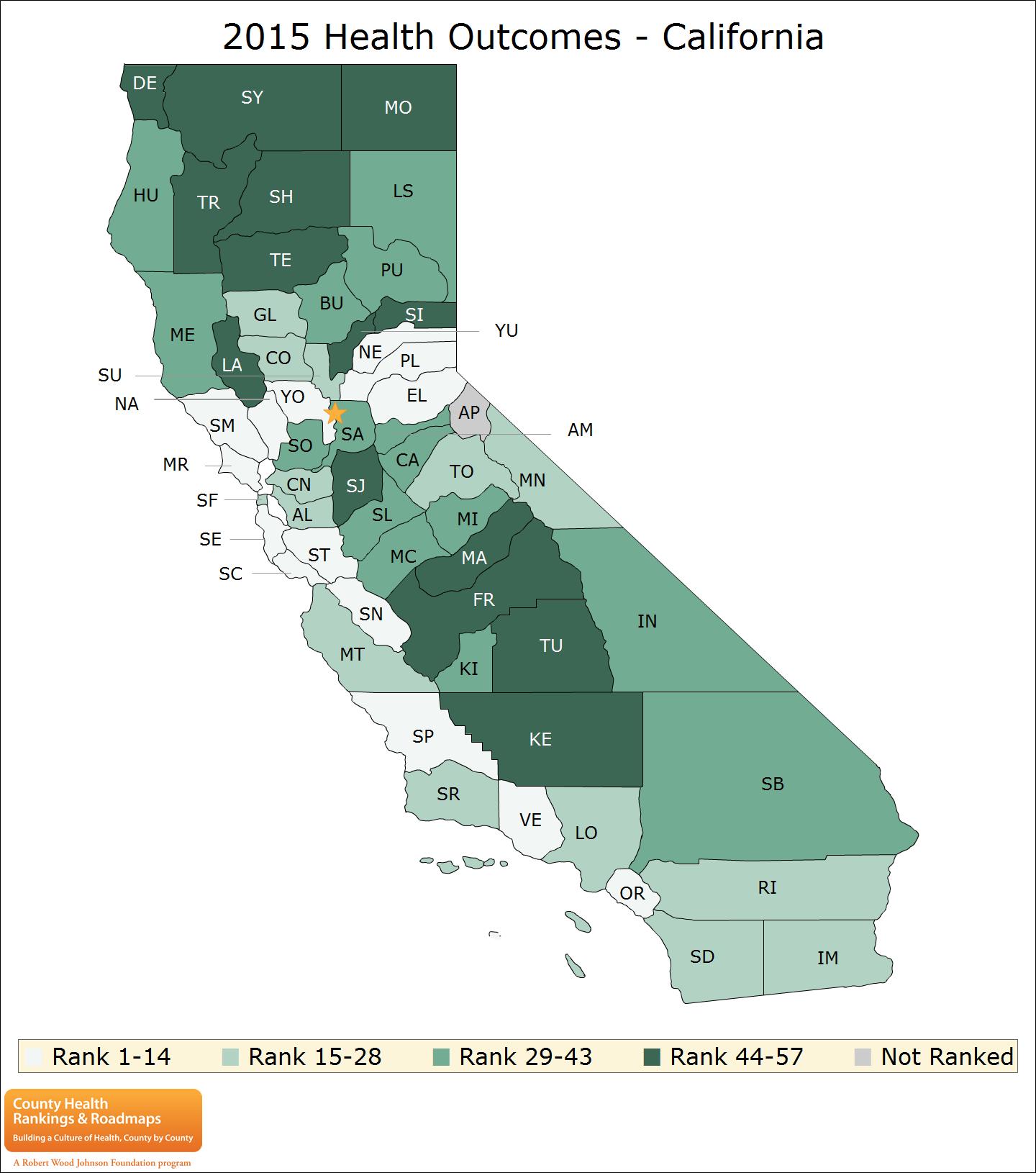 California Rankings Data | County Health Rankings & Roadmaps