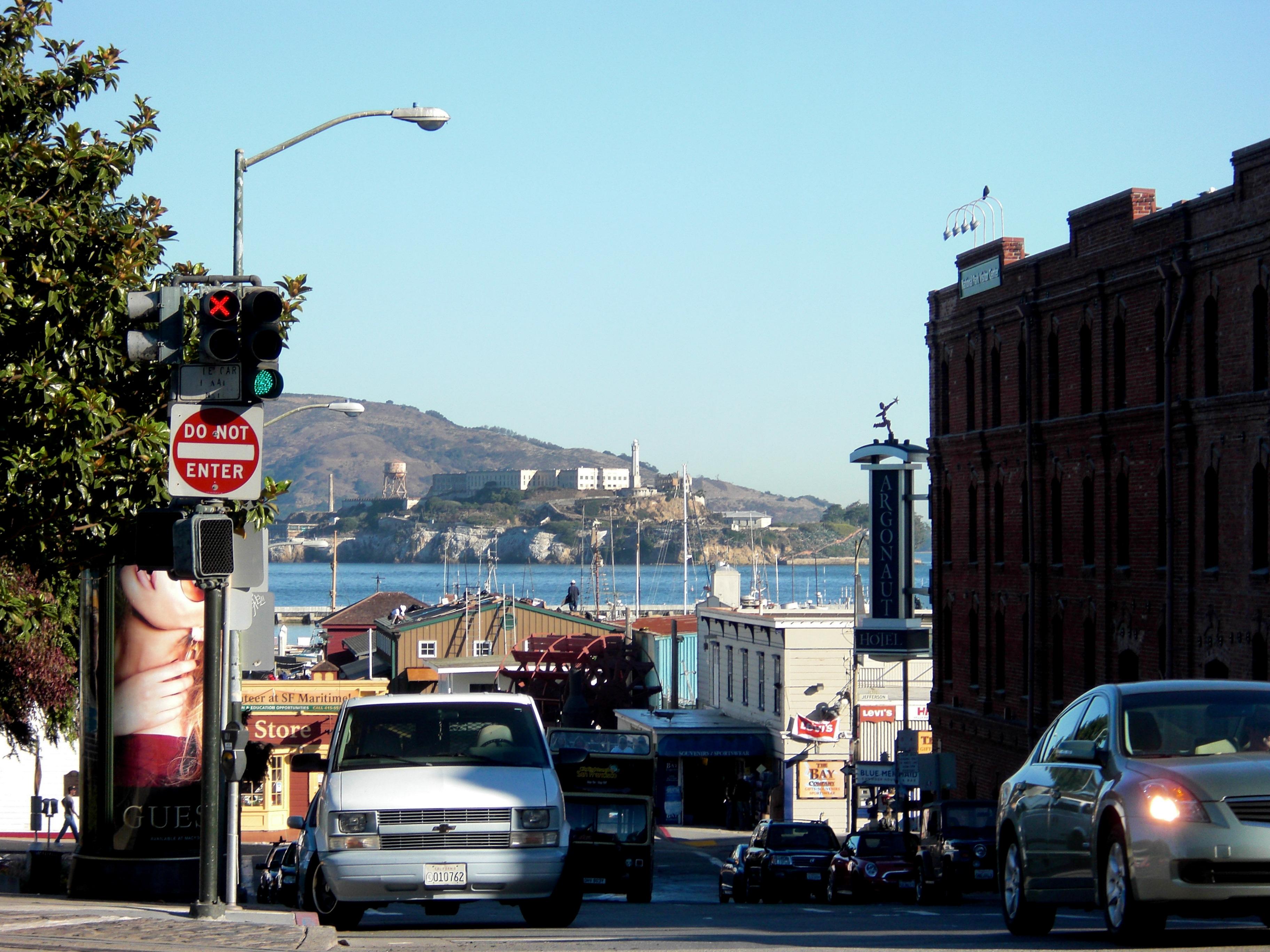 California, Alcatraz, Bay, Bayarea, Hill, HQ Photo