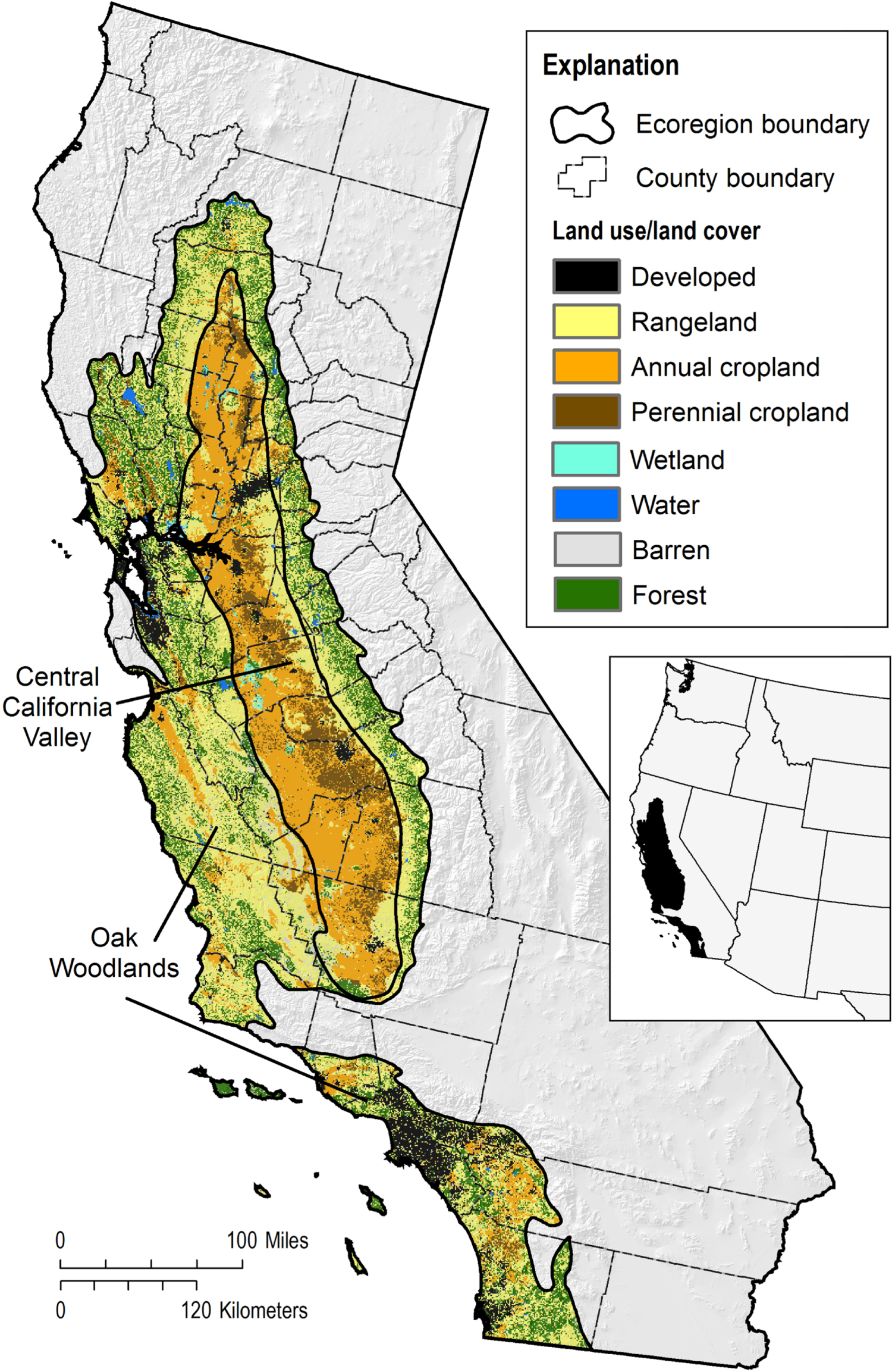 Future land-use related water demand in California - IOPscience