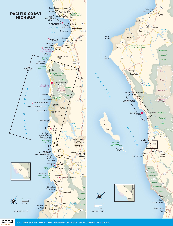 PCH in California: Pacific Coast Highway Beaches | ROAD TRIP USA