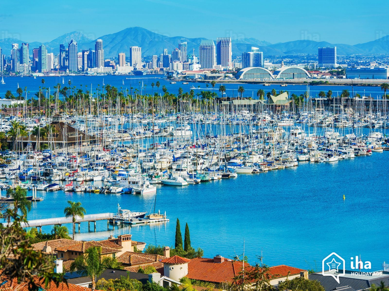 California rentals in a house for your vacations with IHA direct