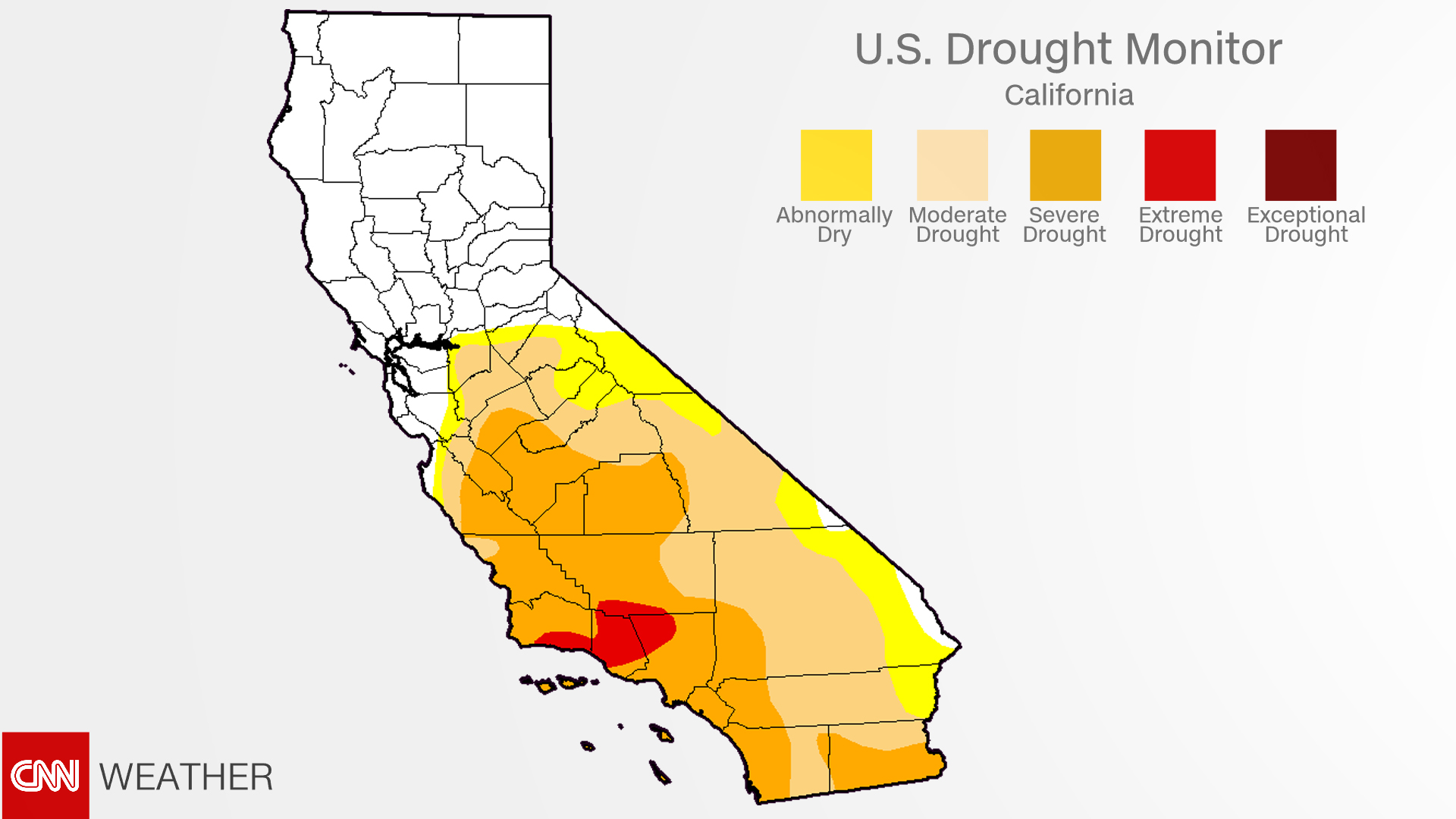 California drought: Recent rains have almost ended it - CNN