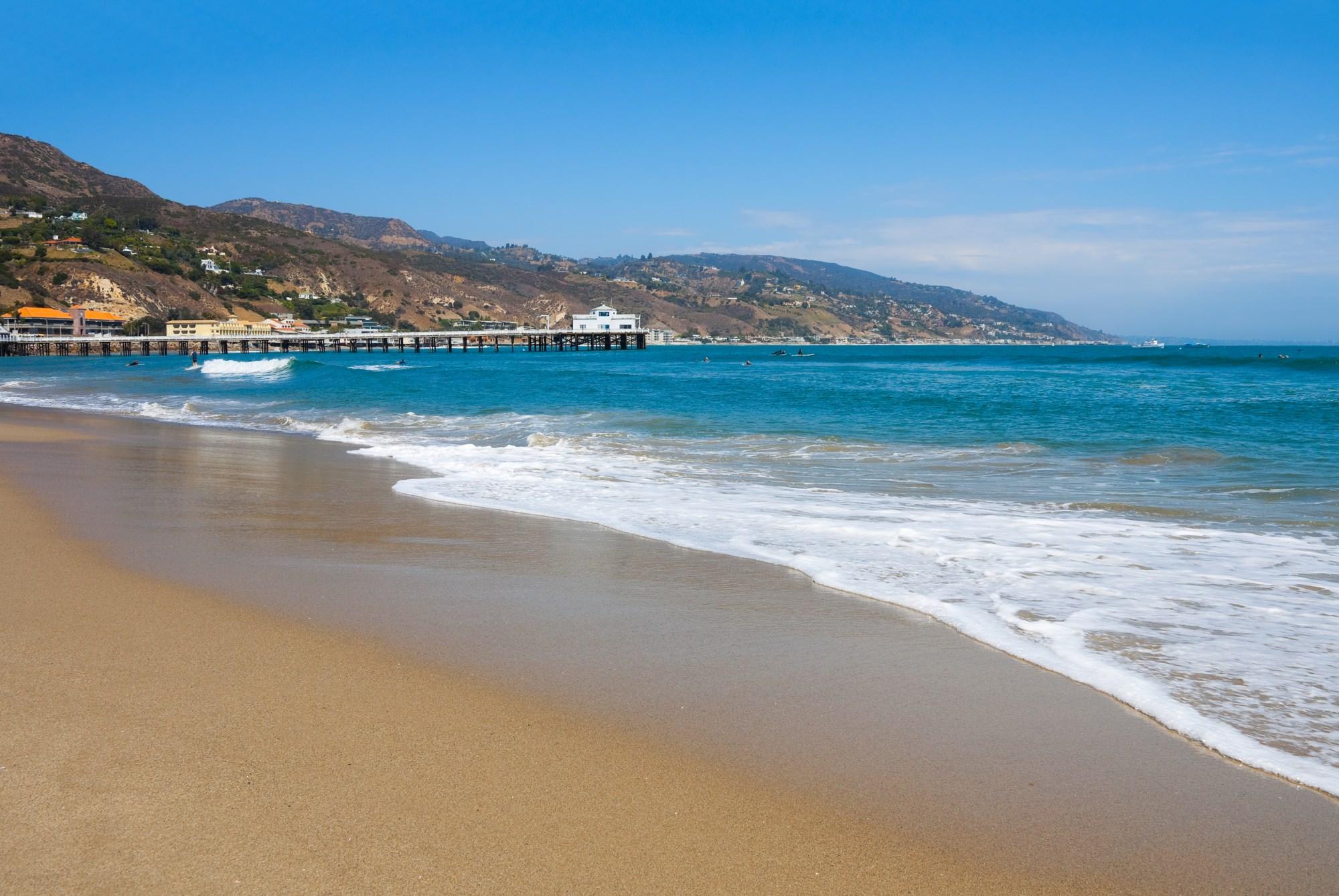 Surfrider Beach, Malibu - California Beaches