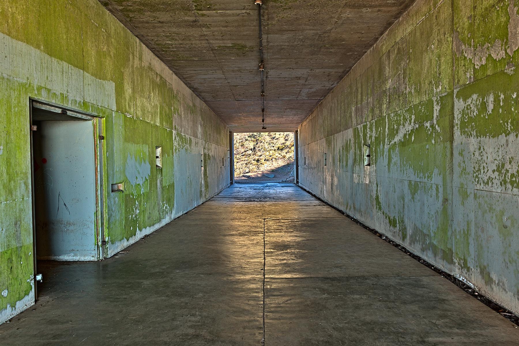 California war tunnel - hdr photo