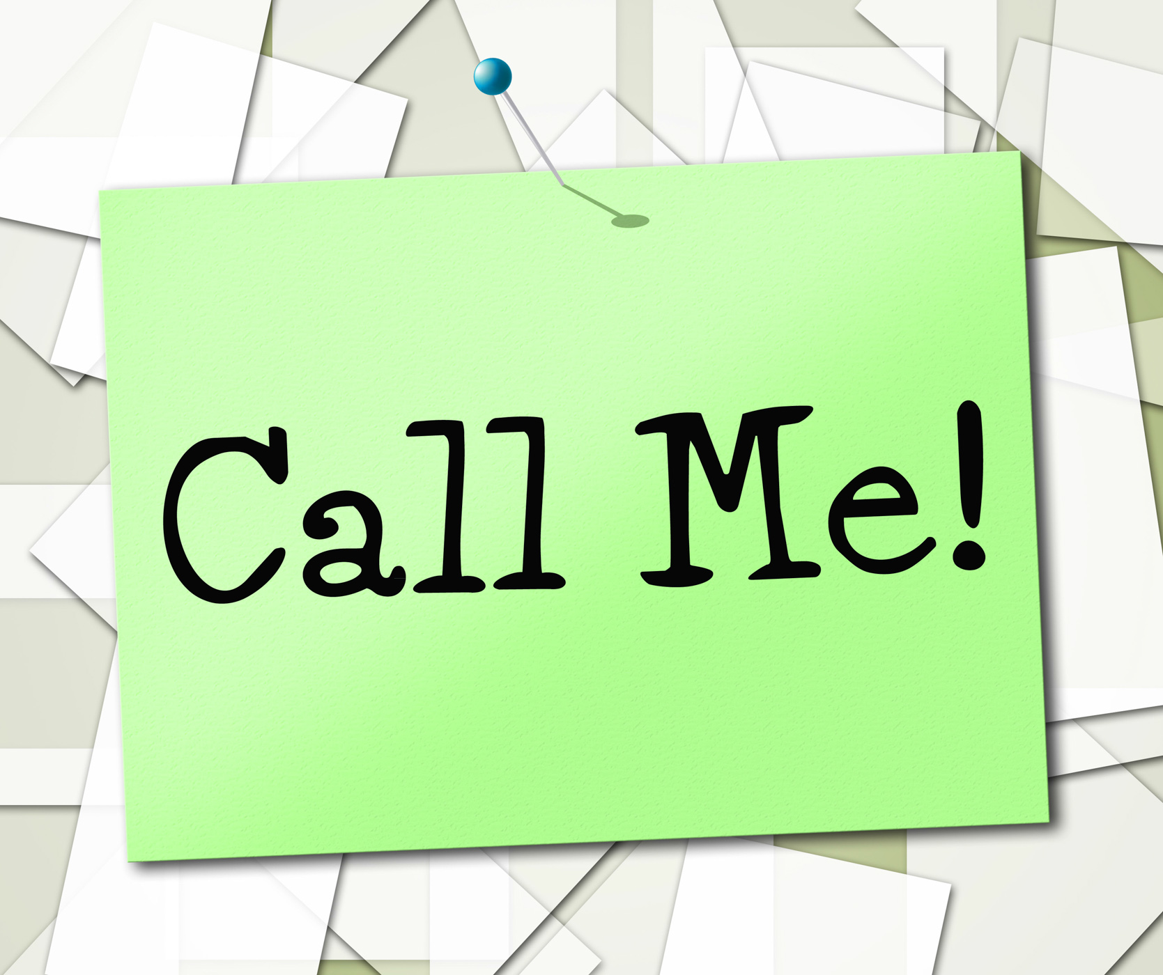Call Me Shows Placard Advertisement And Signboard, Advertisement, Message, Talking, Talk, HQ Photo