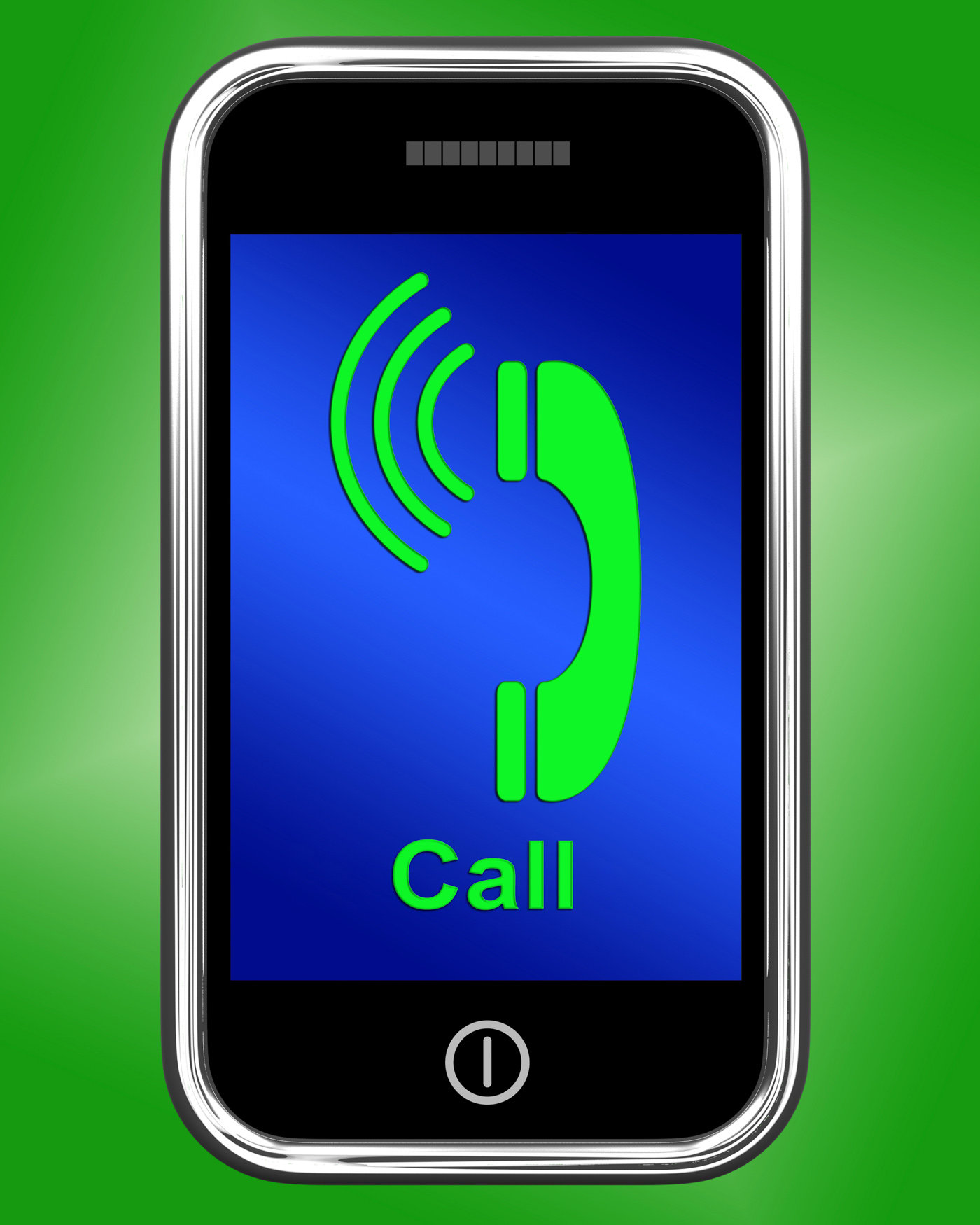 Call On Phone Shows Talk or Chat, Call, Skype, Typing, Type, HQ Photo