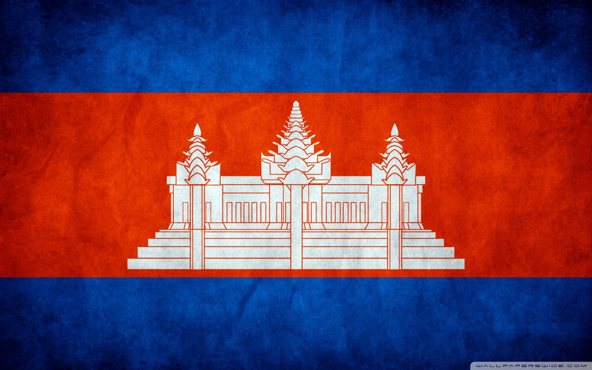 Download Grunge Flag Of Cambodia HD Wallpaper - Wallpapers Printed