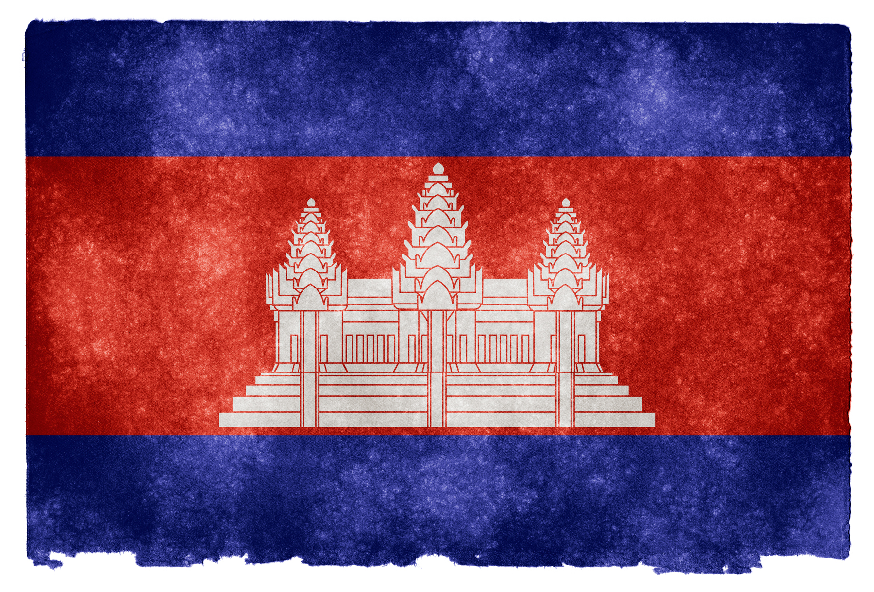 Cambodia Grunge Flag, Aged, Retro, National, Old, HQ Photo