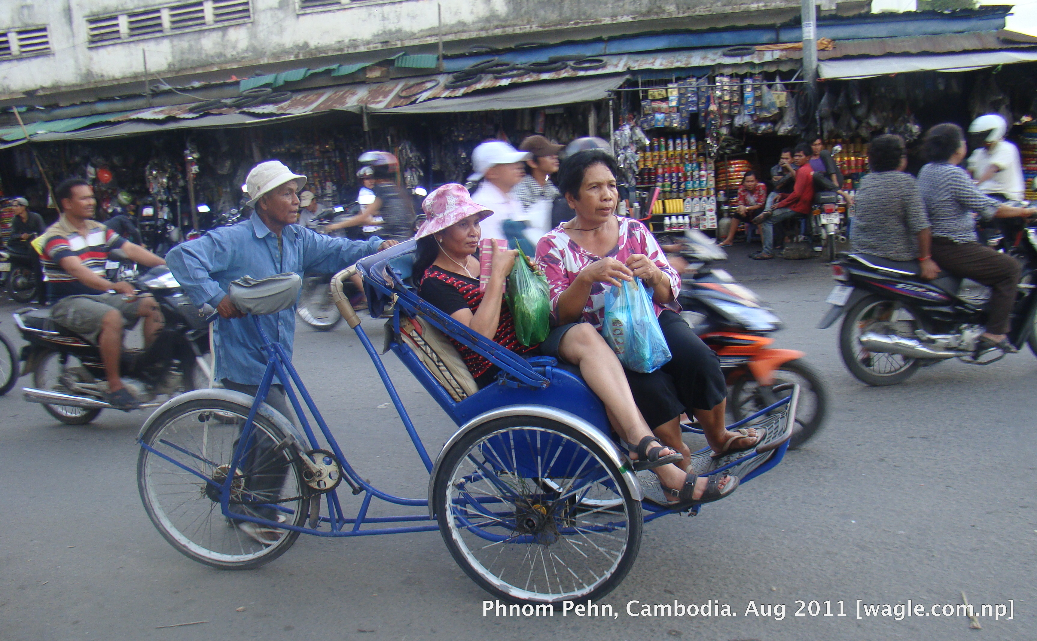 cyclo in phnom penh – Wagle Street Journal