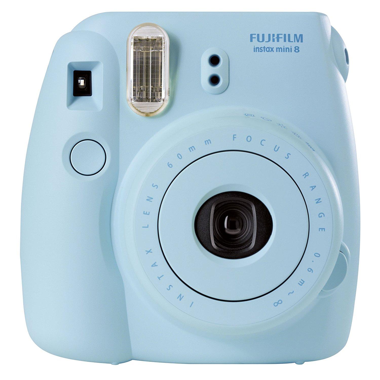 Amazon.com : Fujifilm INSTAX Mini 8 Instant Camera (Blue ...