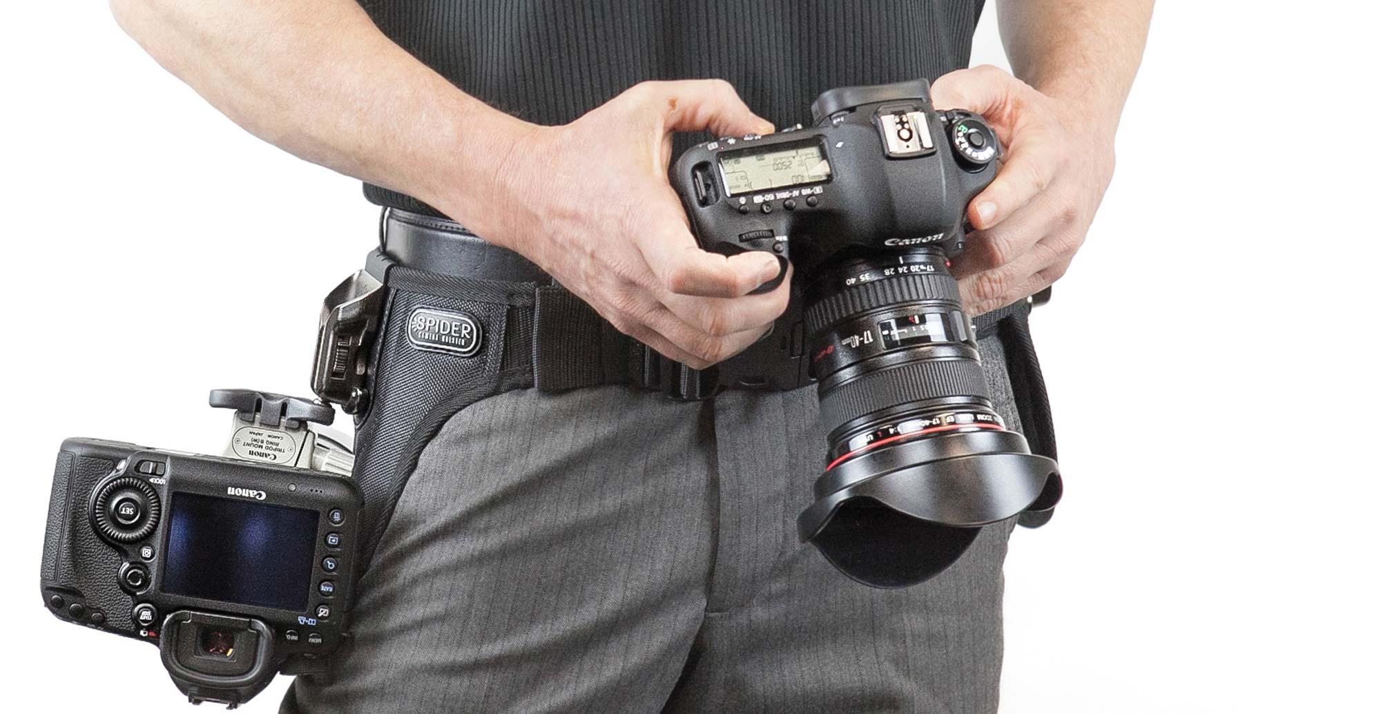 SpiderPro Dual Camera System v2 - Spider Camera Holster