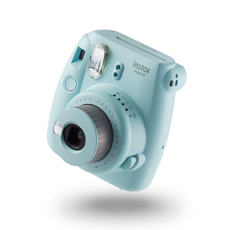 instax Mini 9 Camera with 10 Shots - Ice Blue: Amazon.co.uk: Camera ...