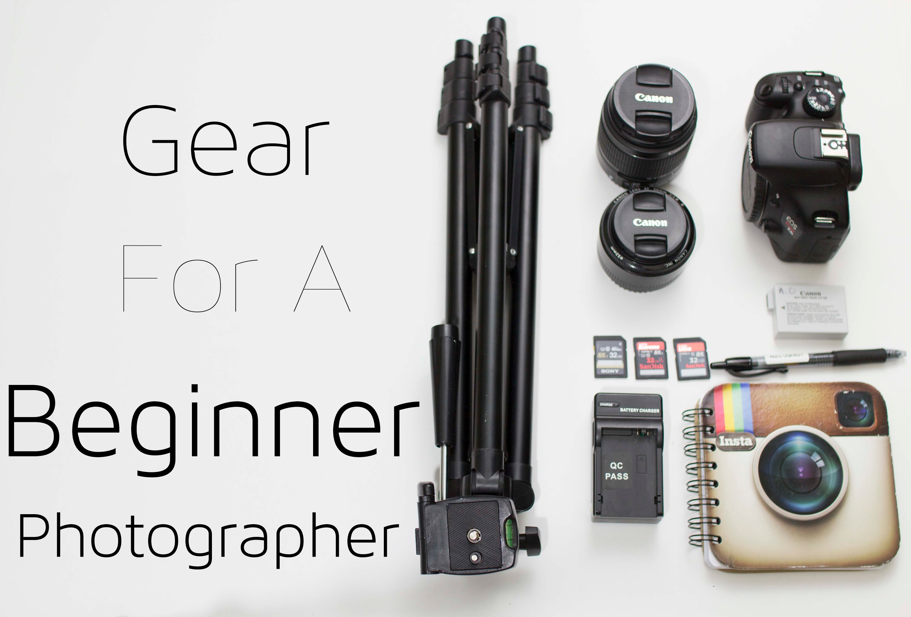 Camera Gear for Beginners - YouTube