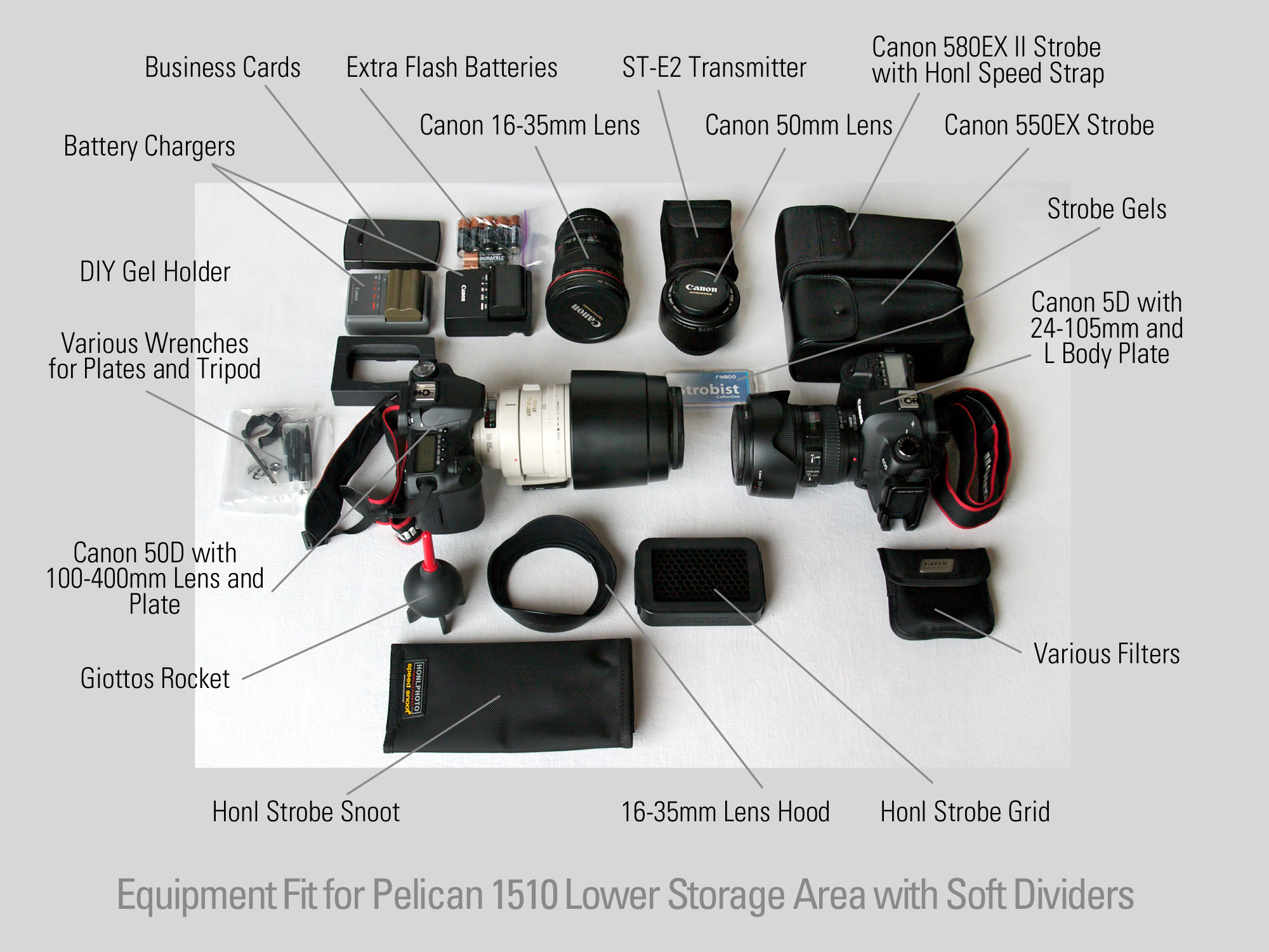 How Much Camera Gear Fits in a Pelican 1510 Carry-On Case? - A Day ...