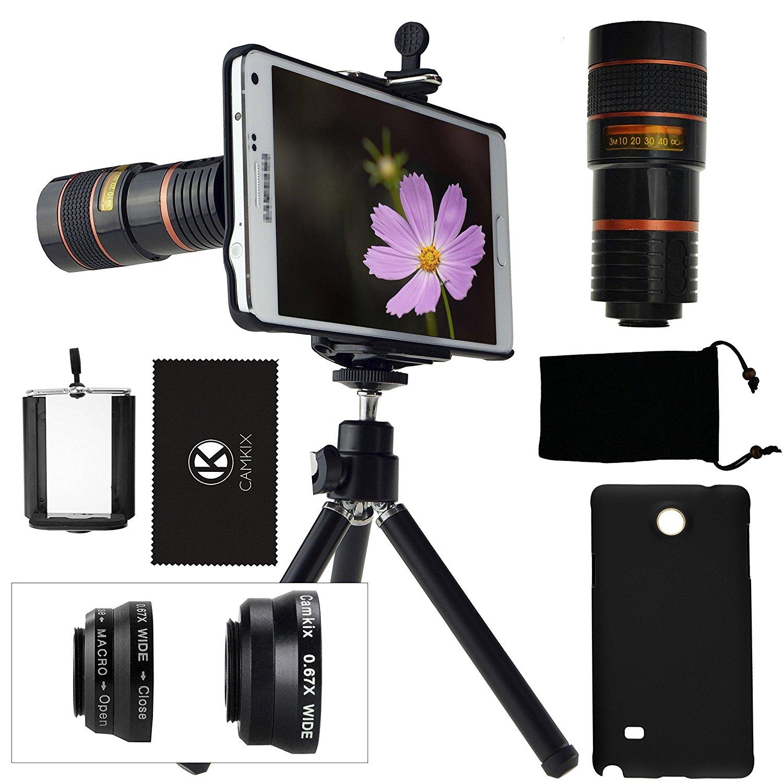 Amazon.com: CamKix Camera Lens Kit for Samsung Galaxy Note 4 ...