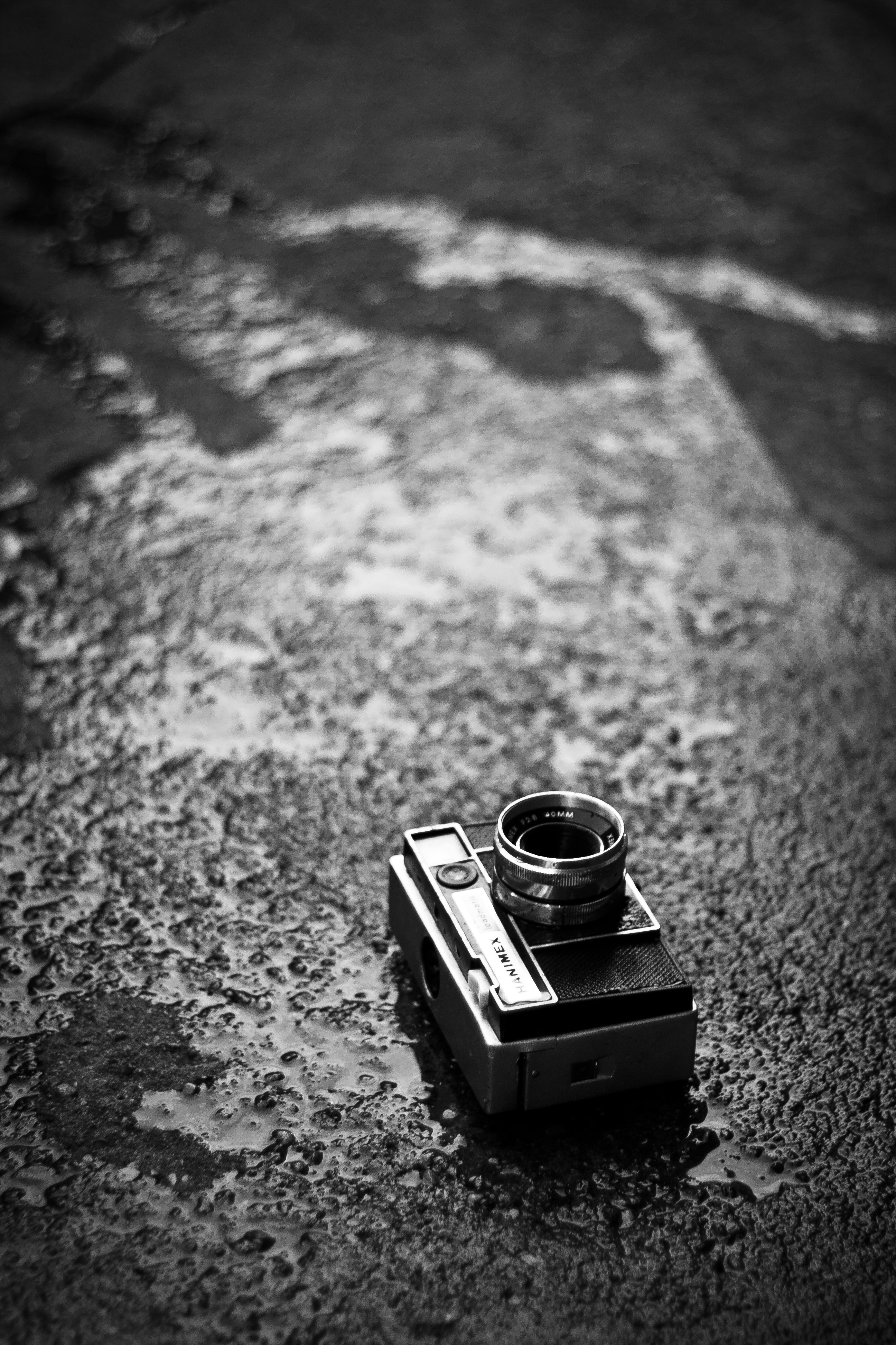 Camera on the road photo