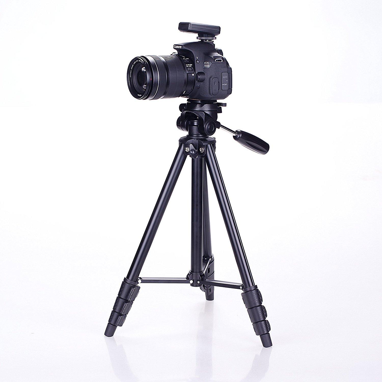 Amazon.com : 54-Inch Professional Lightweight Aluminum Camera Tripod ...