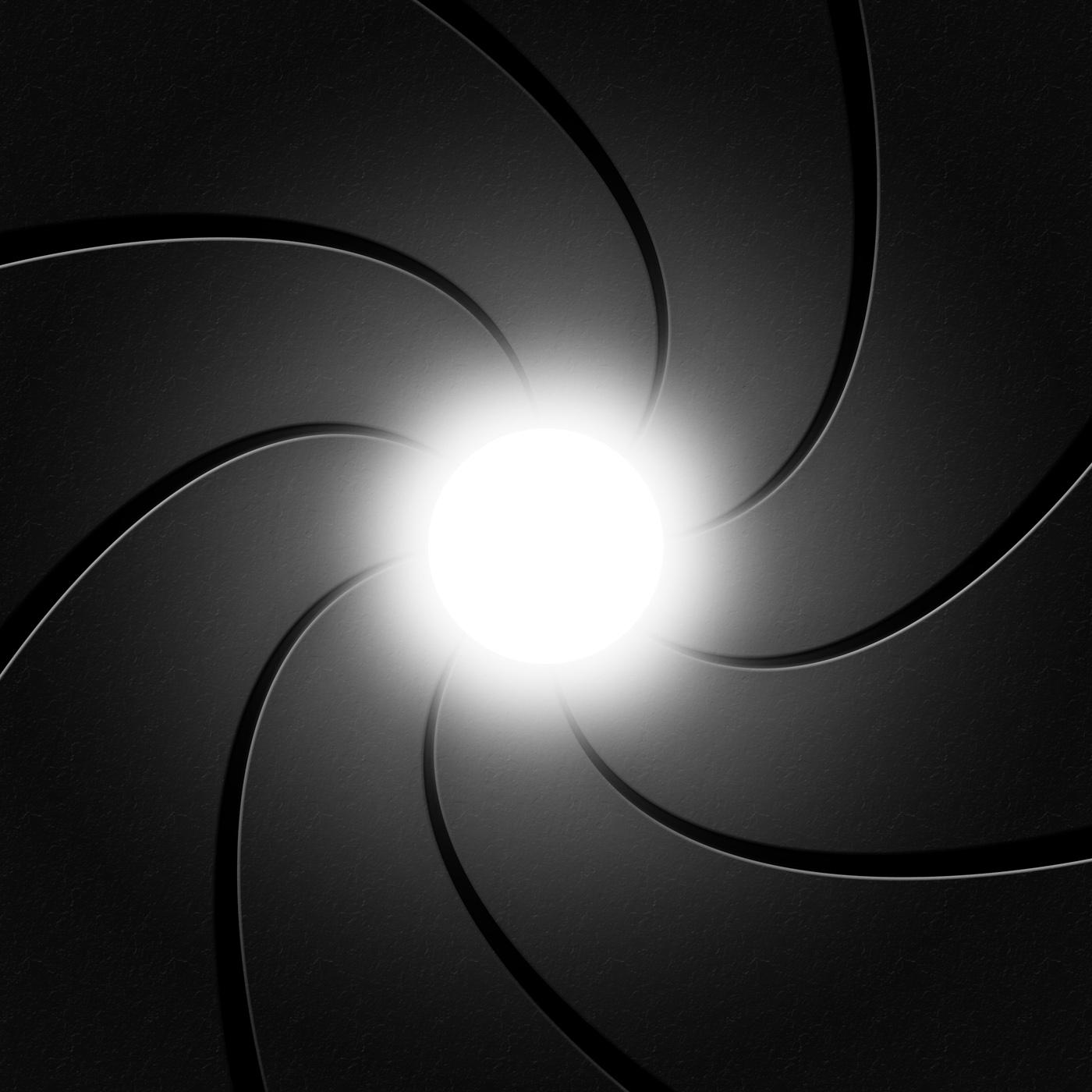 Camera Photographic Represents Shutter Spiral And Grey, Aperture, Shutter, Vortex, Twisting, HQ Photo