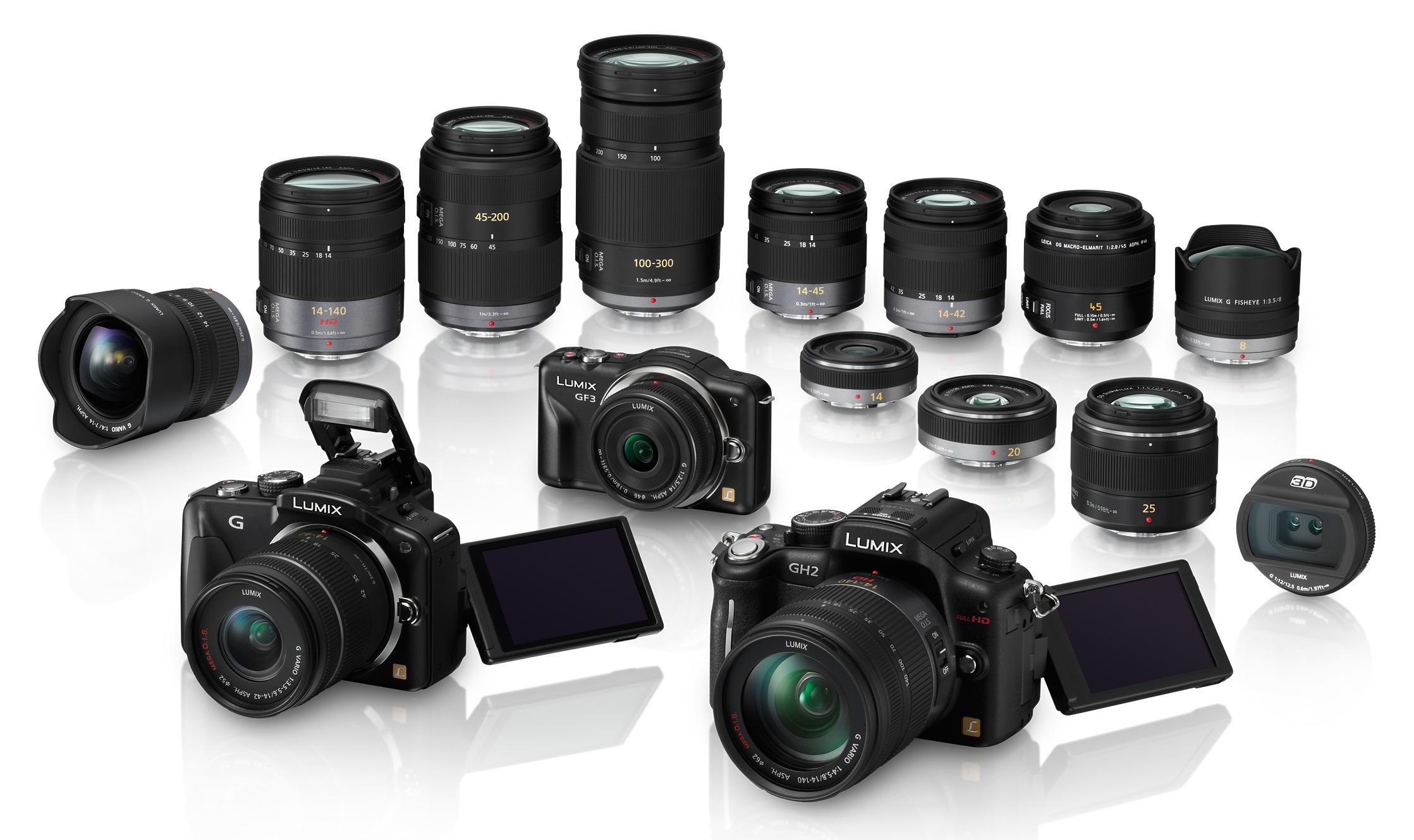 Lesmen's | panasonic-lumix-range-cameras-lenses-large