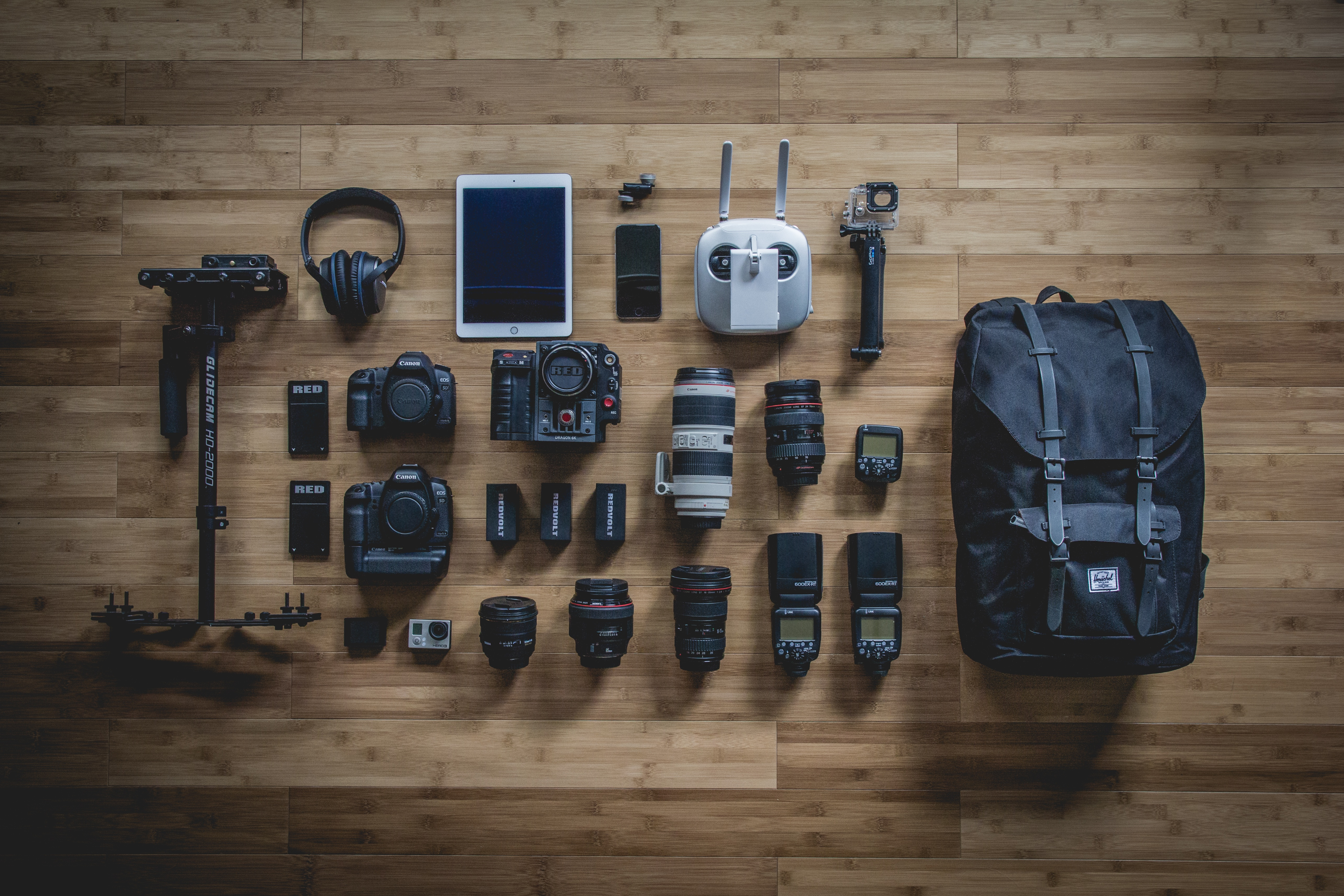 Cameras and lenses, Backpack, Cameras, Category, Collection, HQ Photo