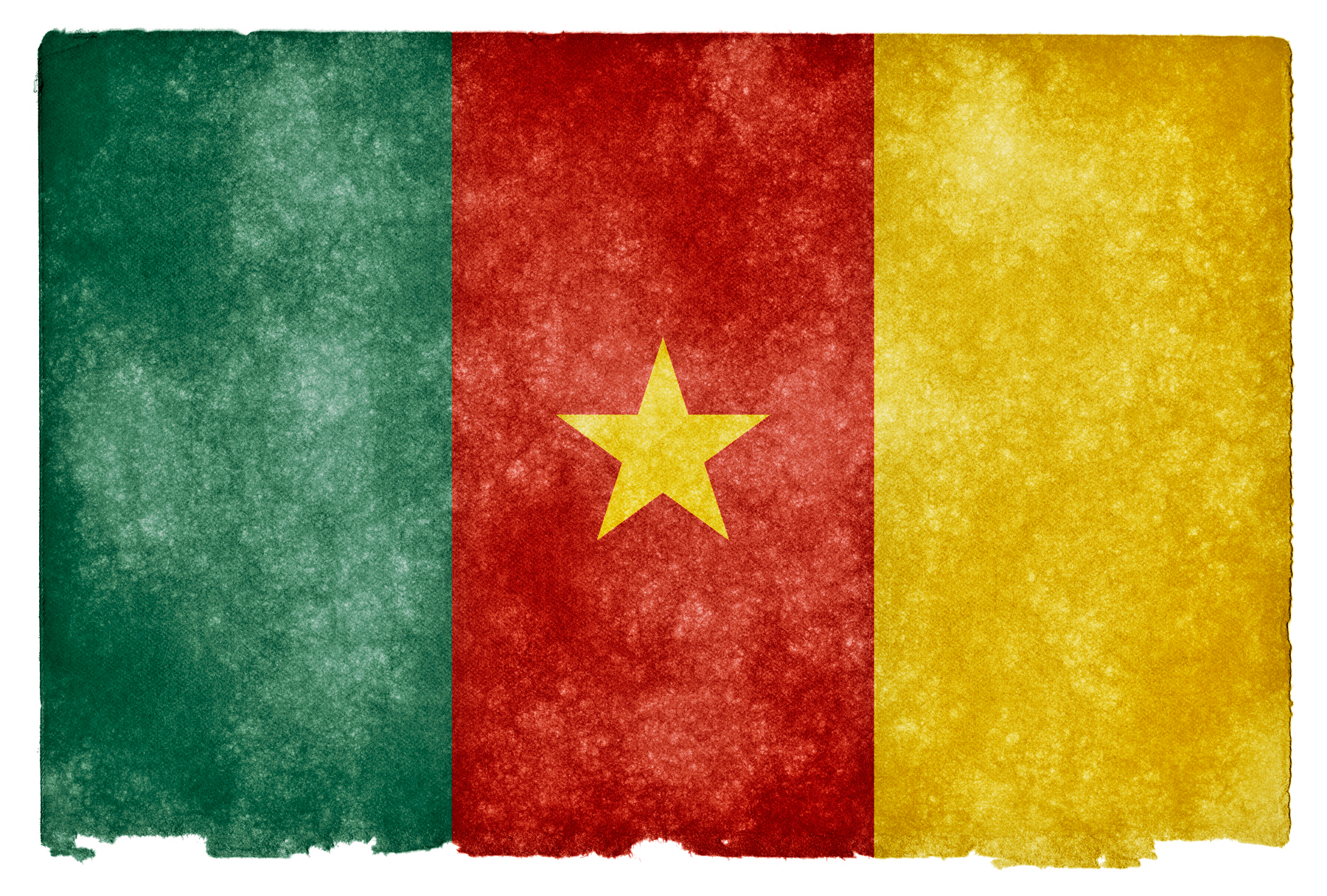 Cameroon Grunge Flag, Africa, Retro, Page, Paper, HQ Photo