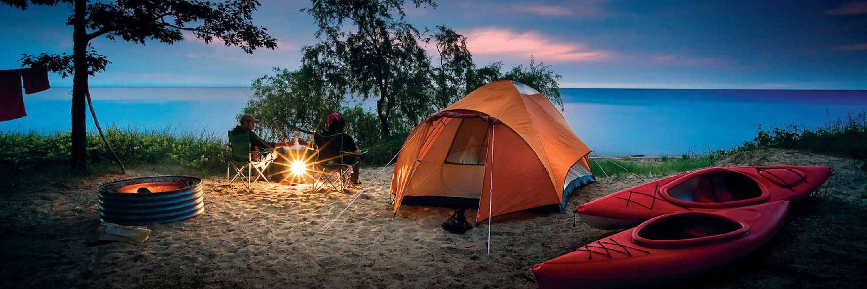 Camping: Campgrounds & RV Parks | Michigan