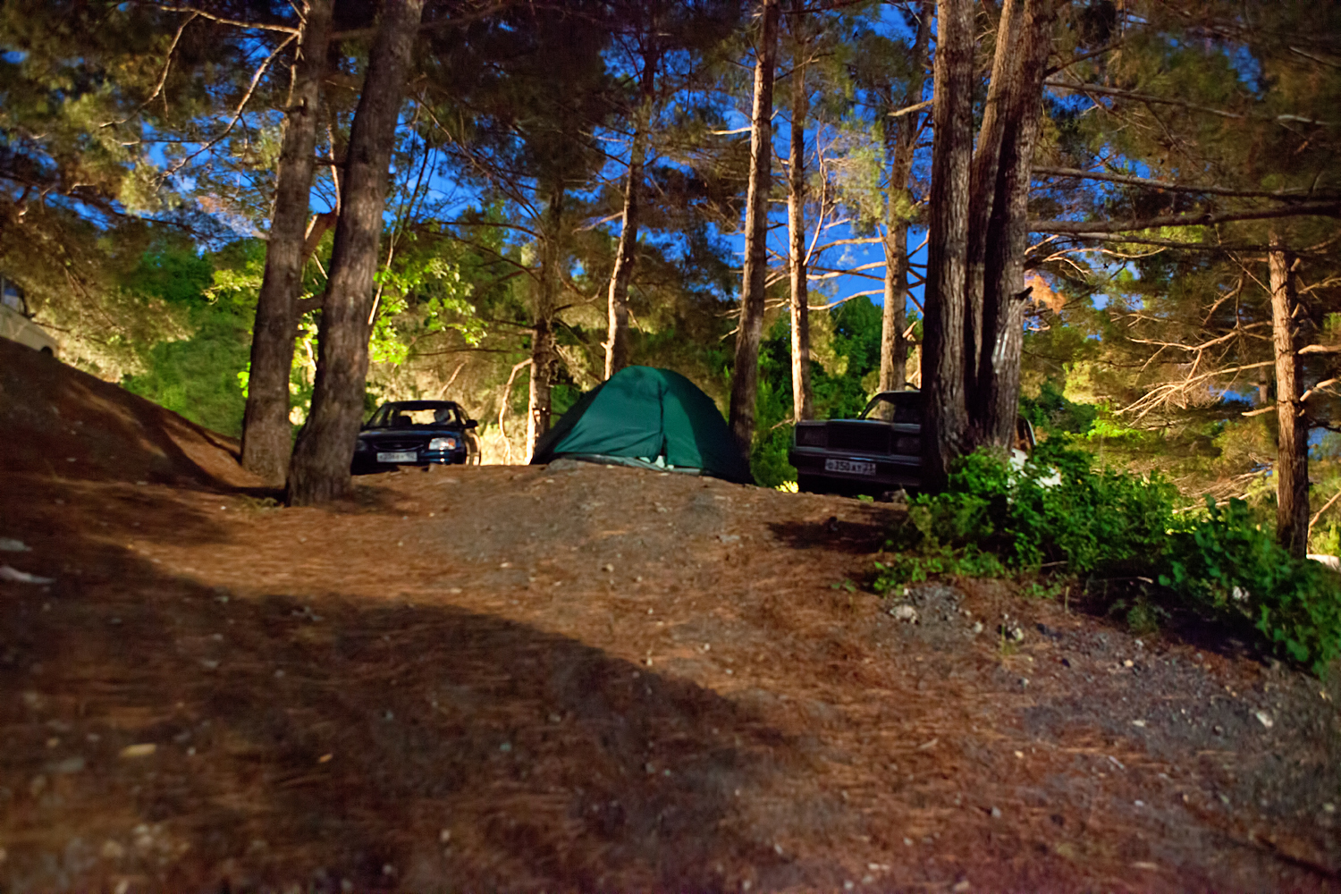 camping site at night, Auto, Recreation, Vacation, Trekking, HQ Photo