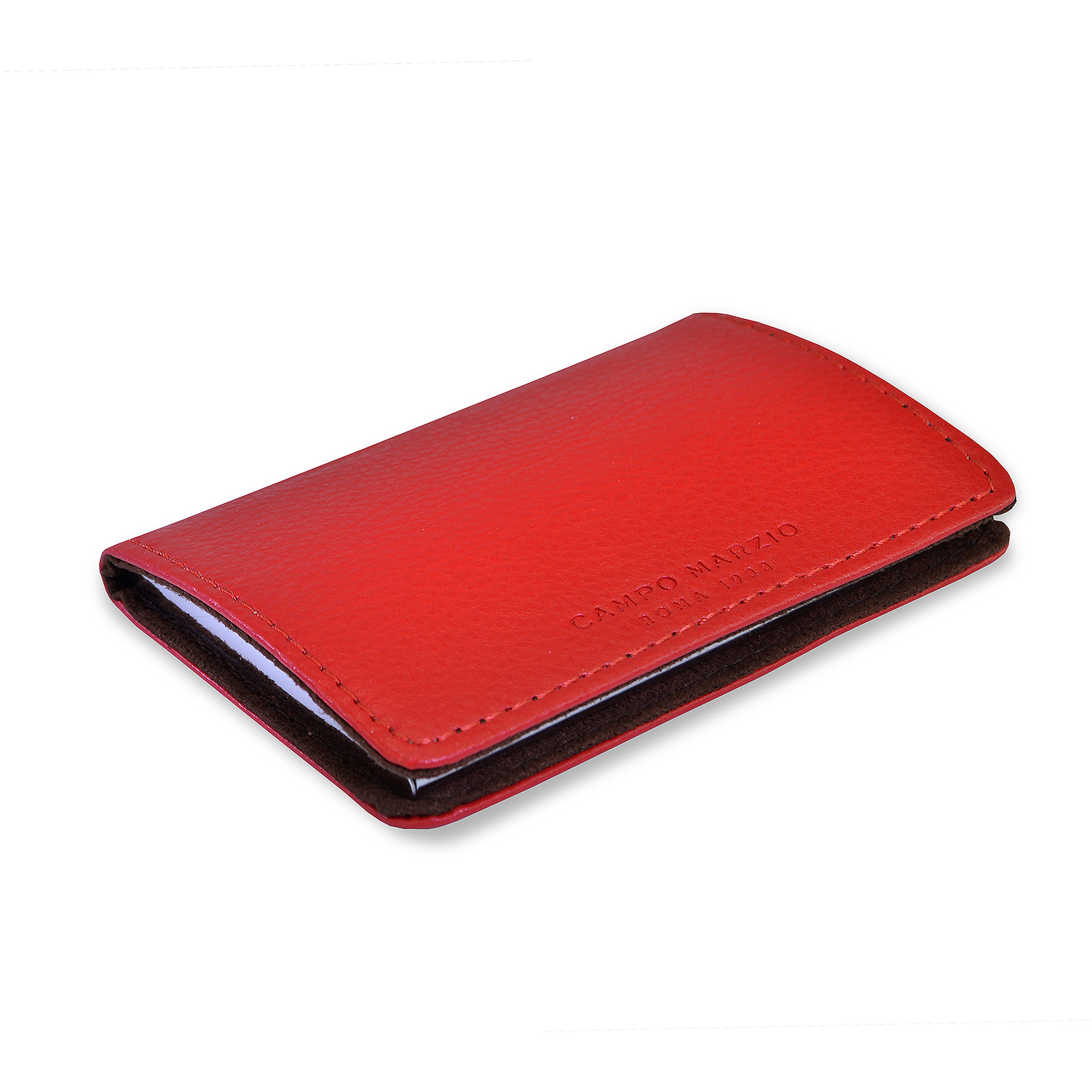 CAMPO MARZIO / LEATHER CARD HOLDER - Type Center