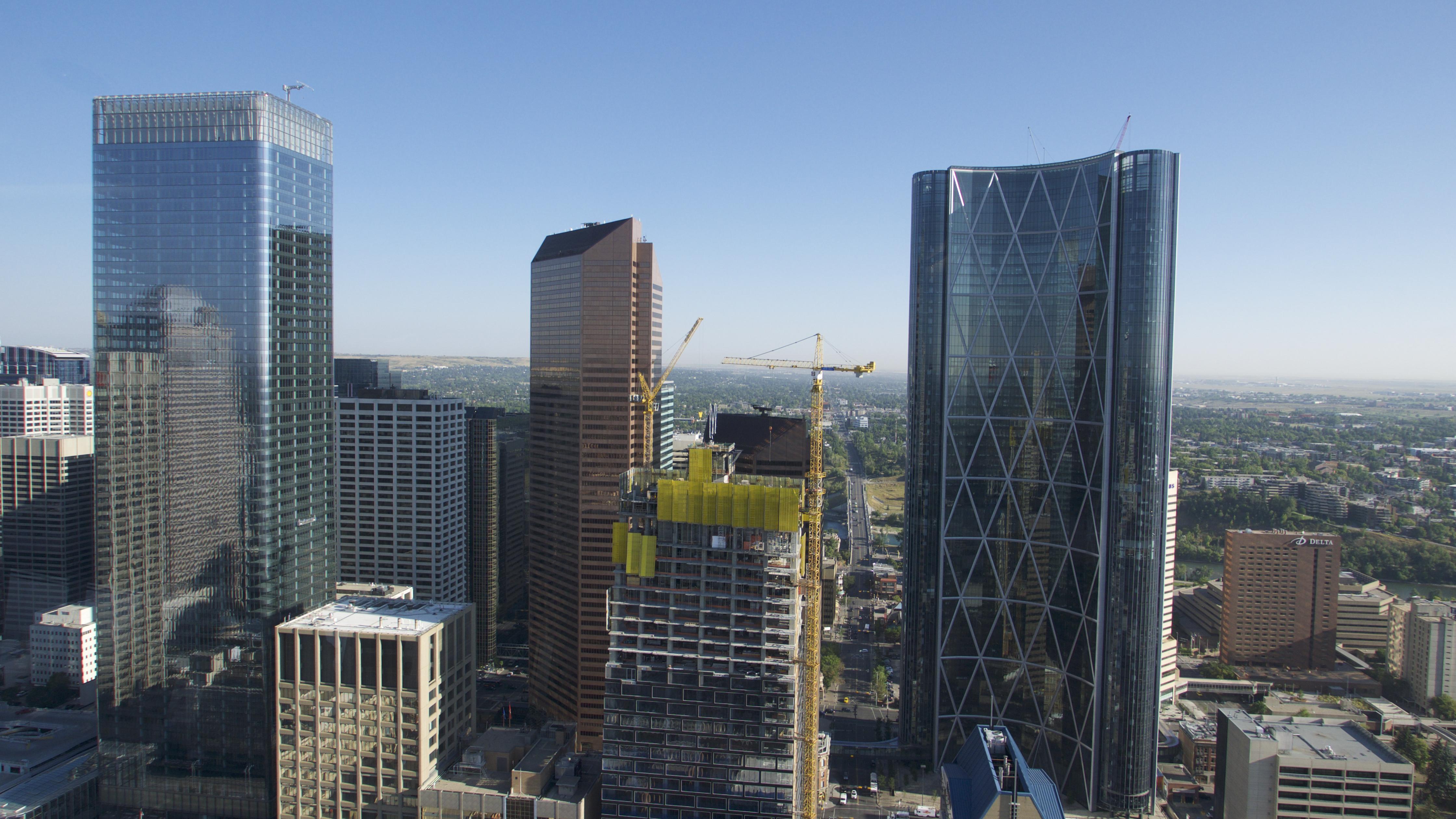 Canada Calgary Downtown, Architecture, Building, Calgary, Canada, HQ Photo
