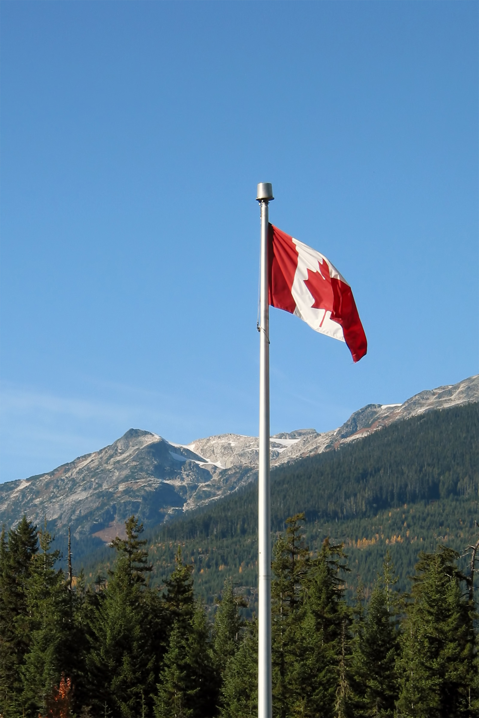 Canadian flag photo