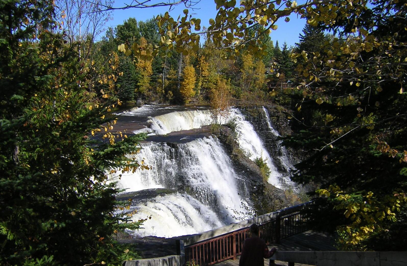 Canadian waterfall photo