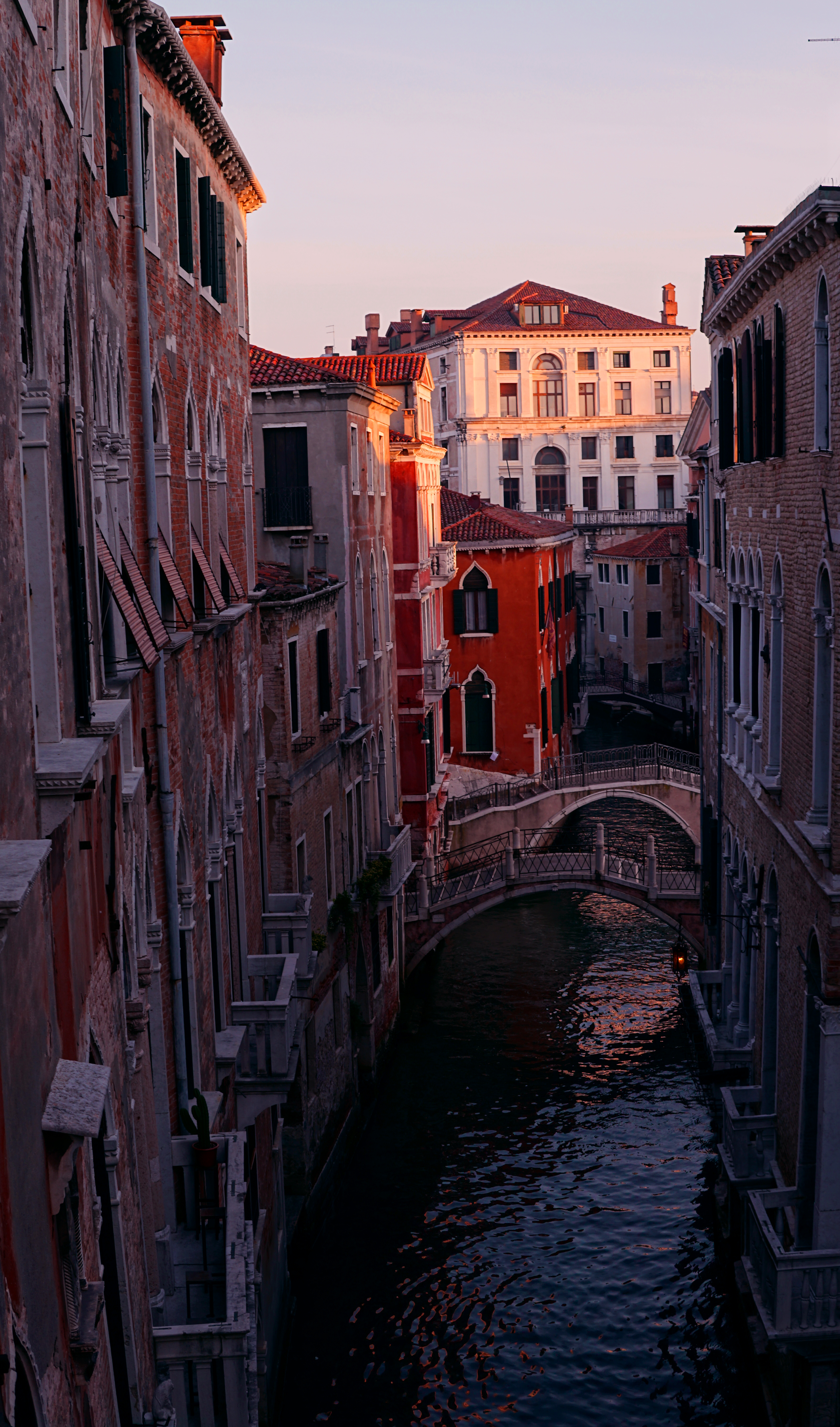 Canal in Venice, Amanecer, Architecture, Beauty, Canal, HQ Photo