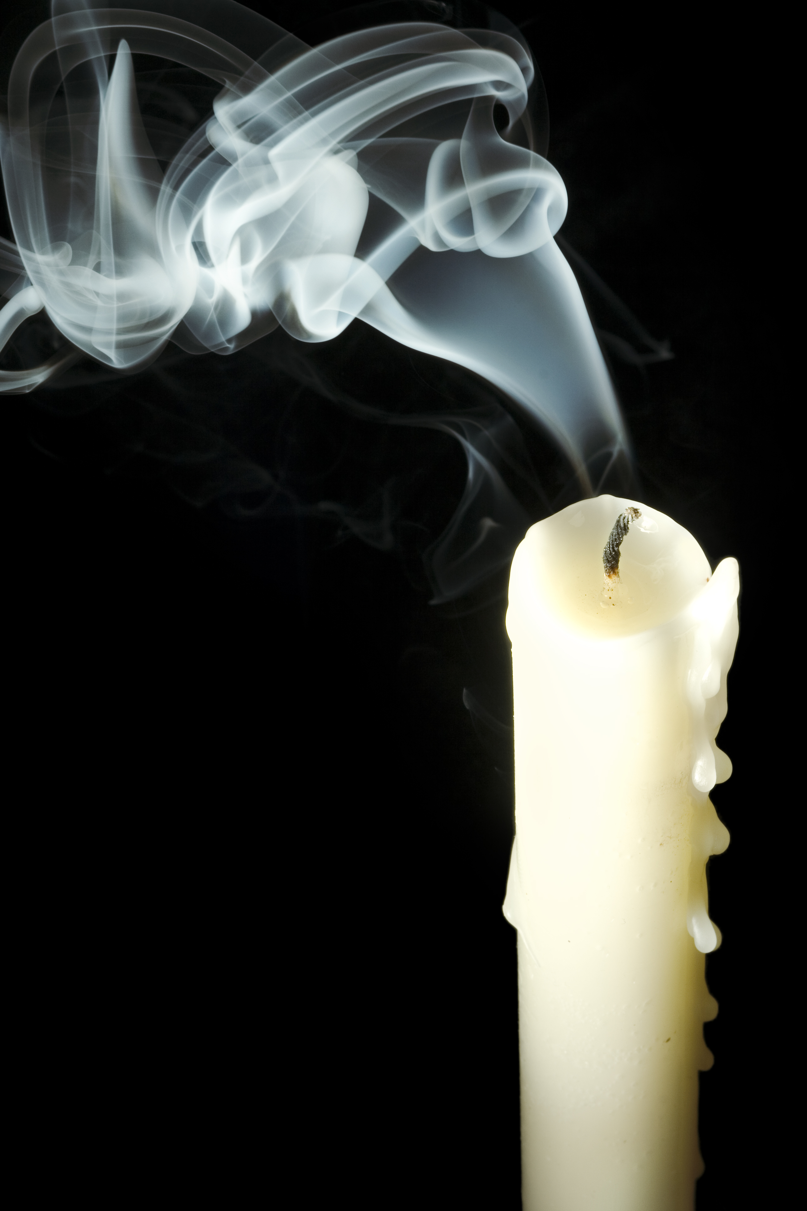 candle, Burning, Fire, Light, Smoke, HQ Photo