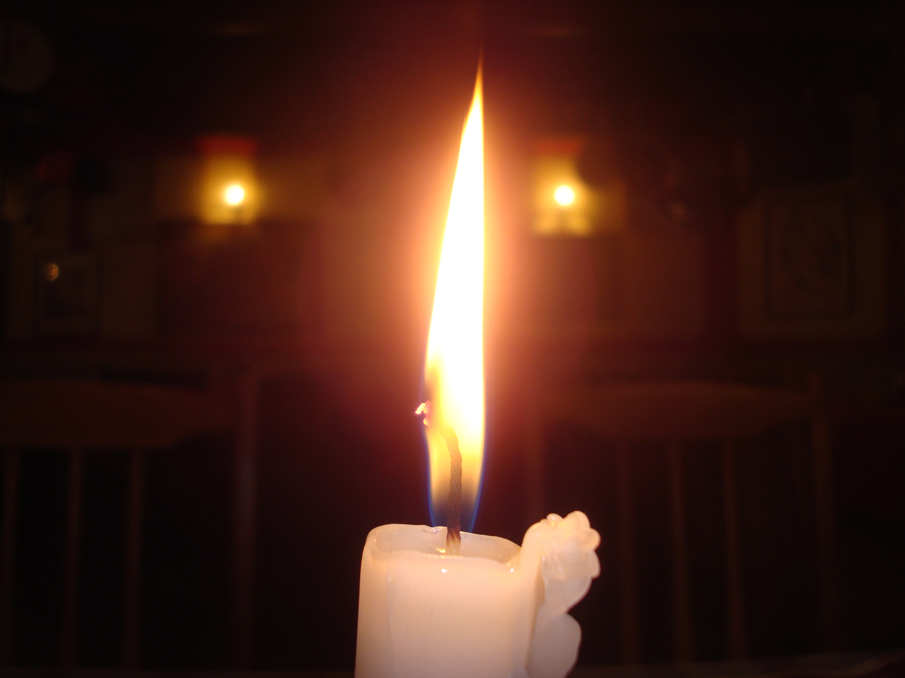 Candle light photo