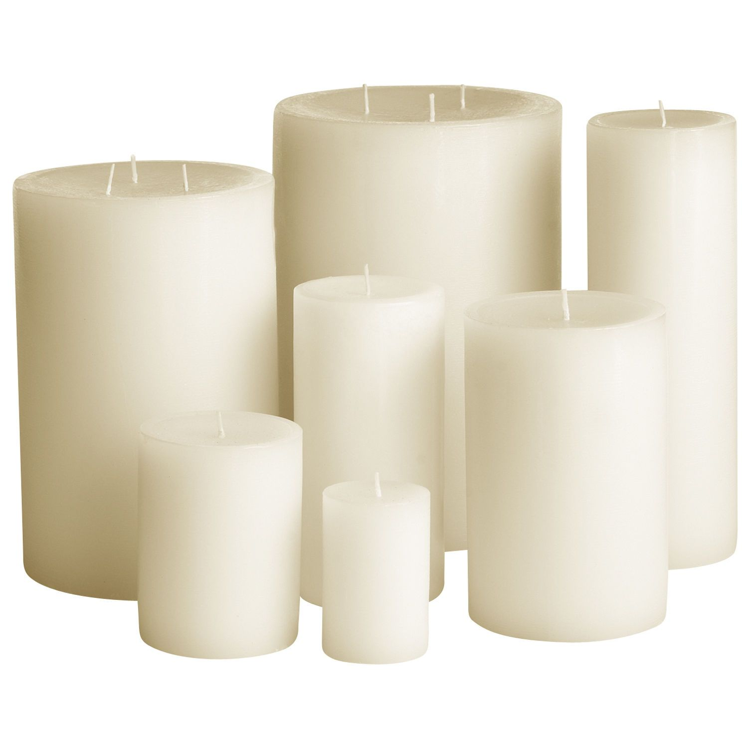 Unscented Ivory Candles   Pier 1 Imports