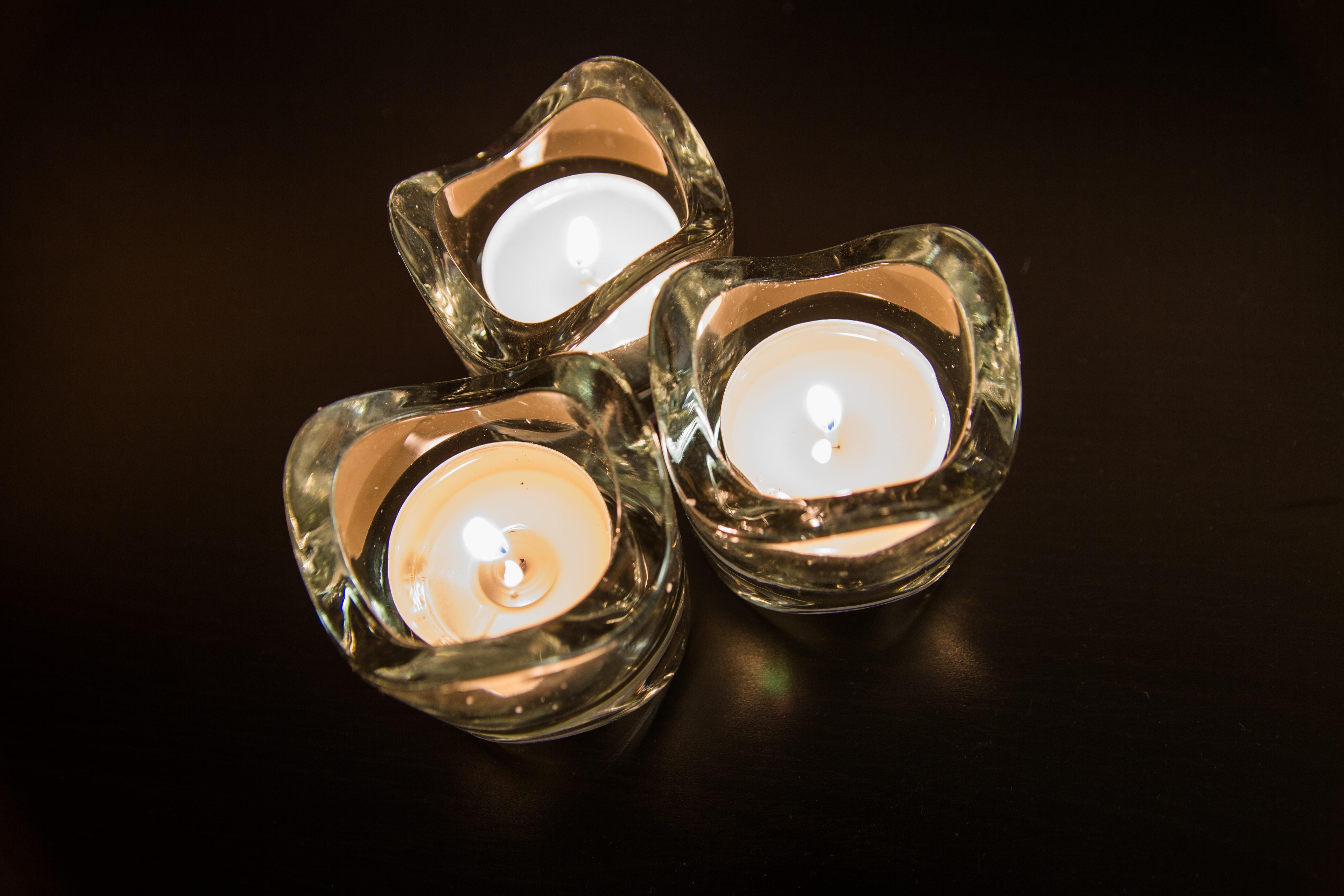 Candles at night, Lights, Light, Moody, Night, HQ Photo