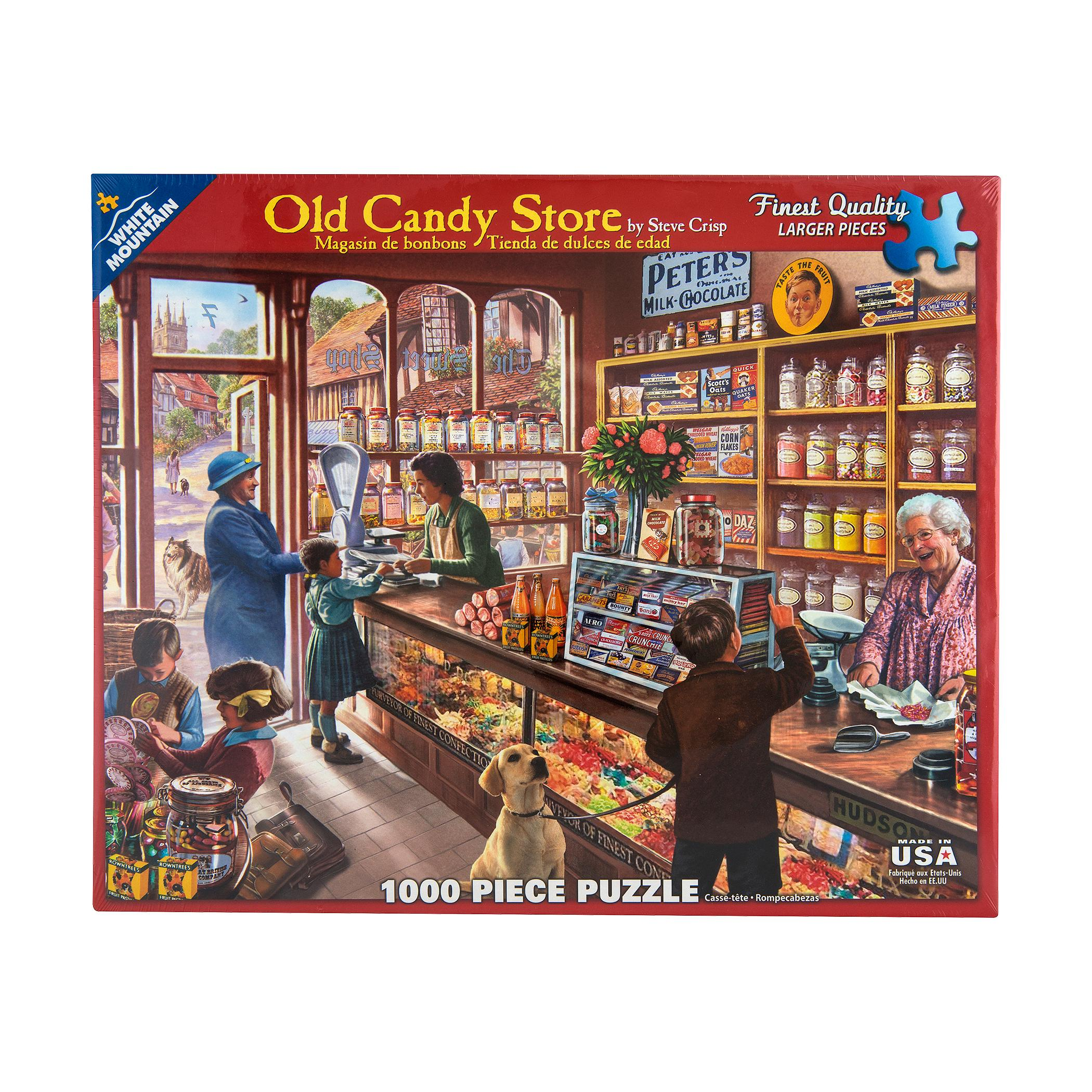 WHITE MTN PUZZLE | Puzzle - Old Candy Store | Mast General Store