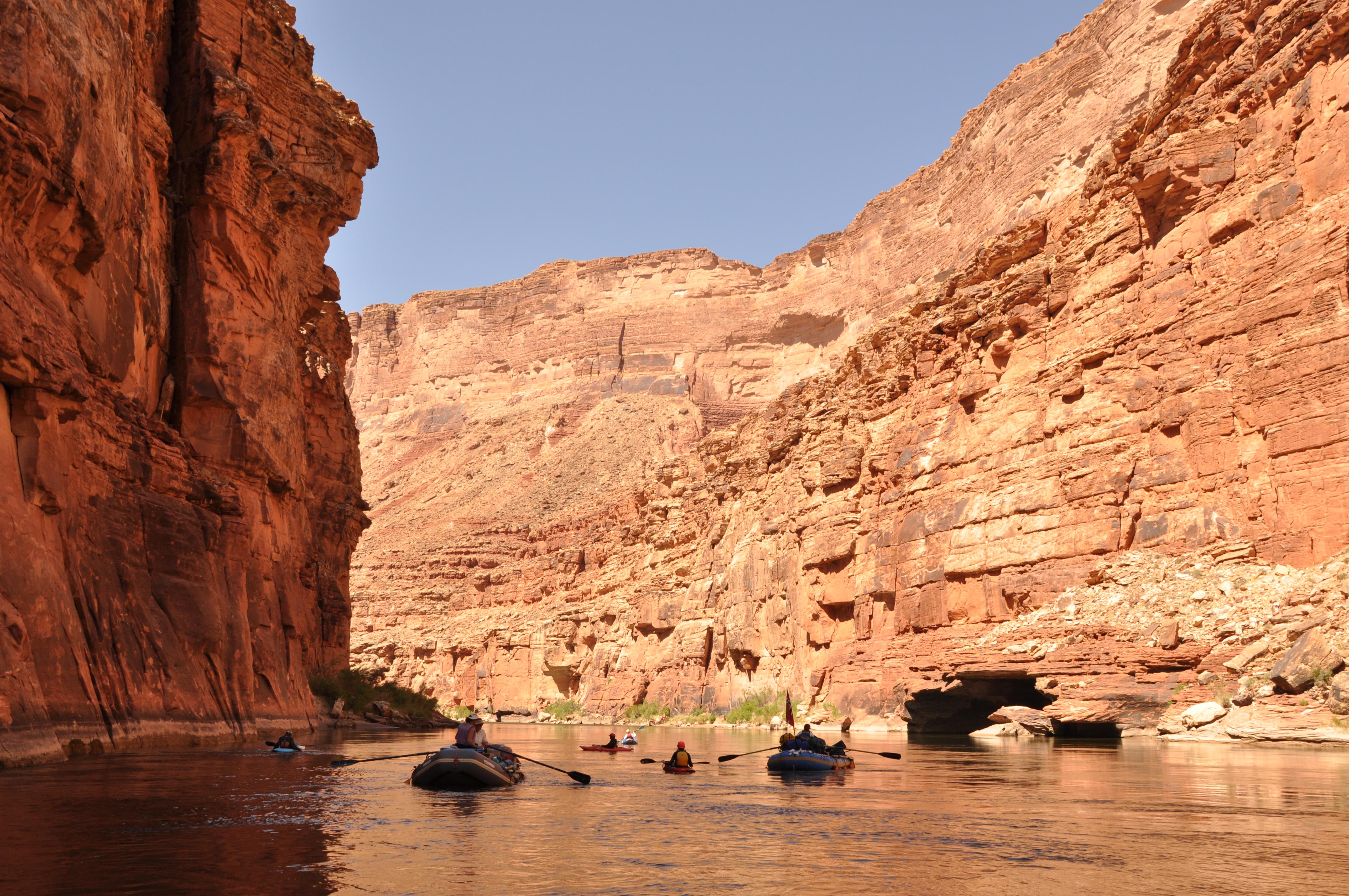 Canyon walls photo