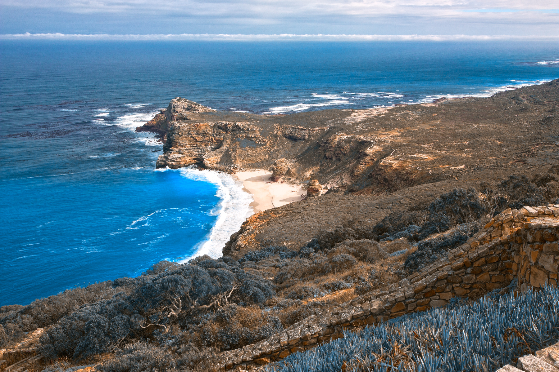 Cape blue point - hdr photo