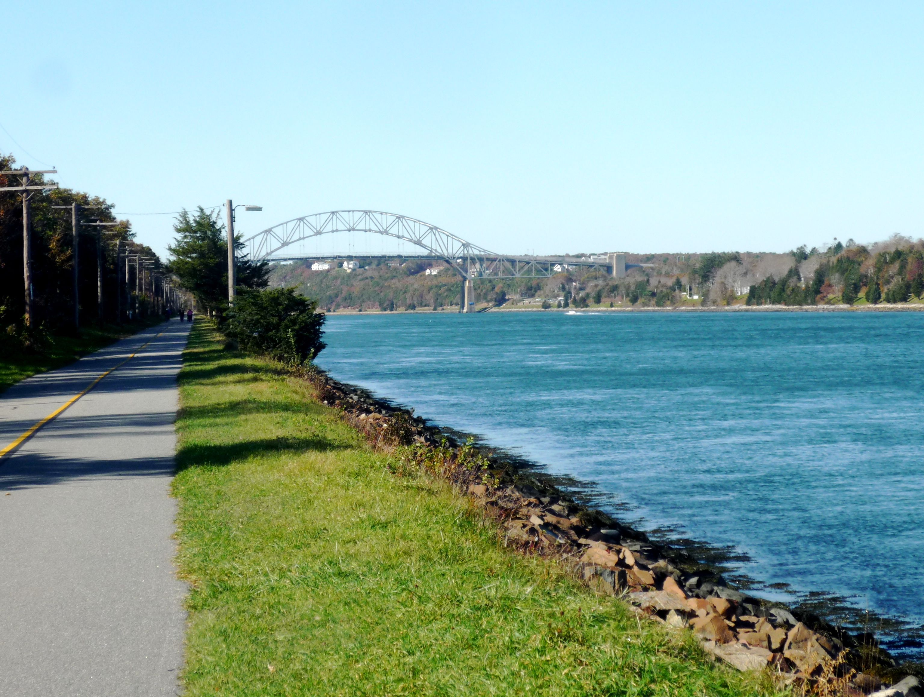 Visiting the Free Cape Cod Canal Bike Trail in November | The ...