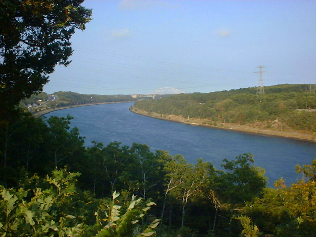 Cape Cod Canal, Supply, Path, Recreation, Saltwater, HQ Photo