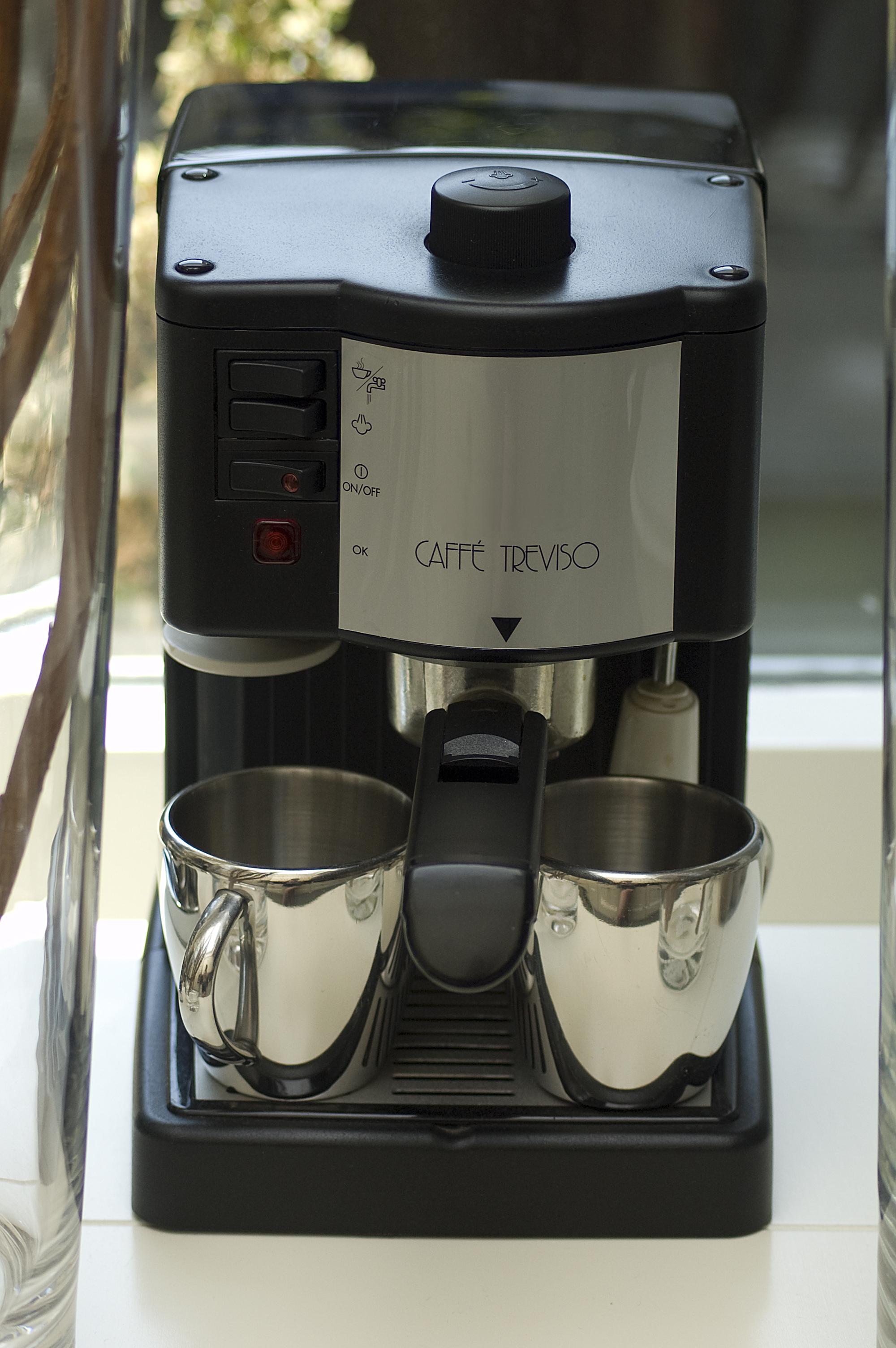 Cappuccino machine photo