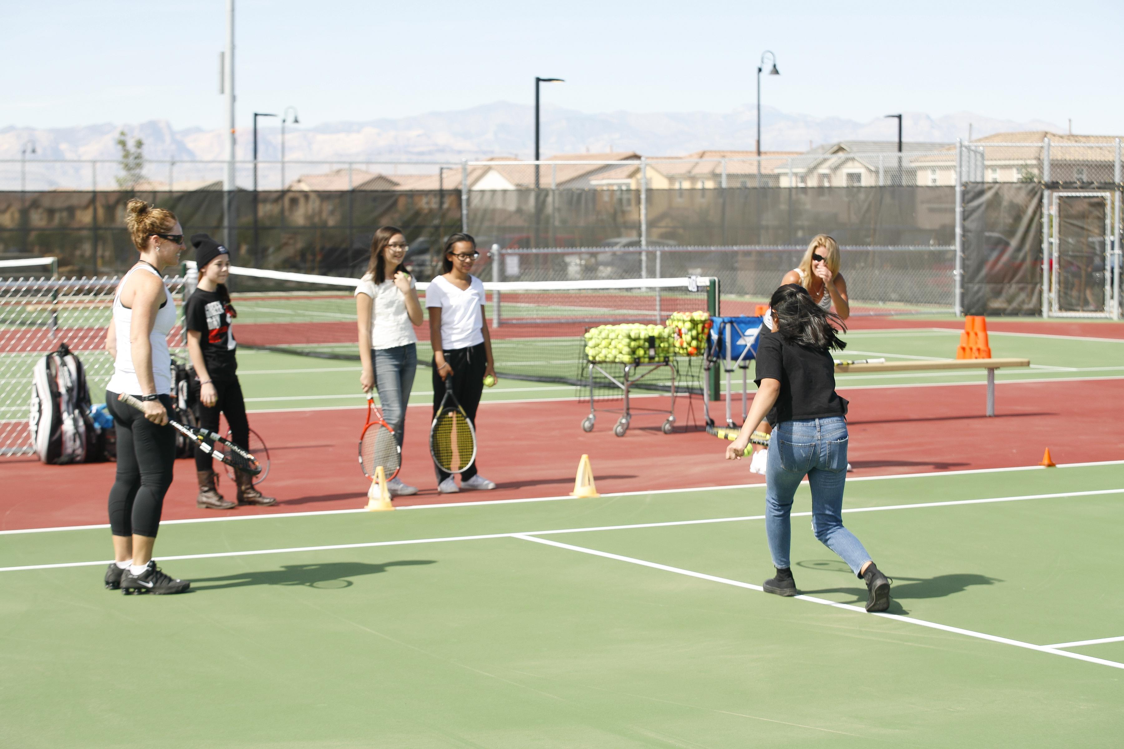 Henderson Parks Tennis at Capriola - Inspirada