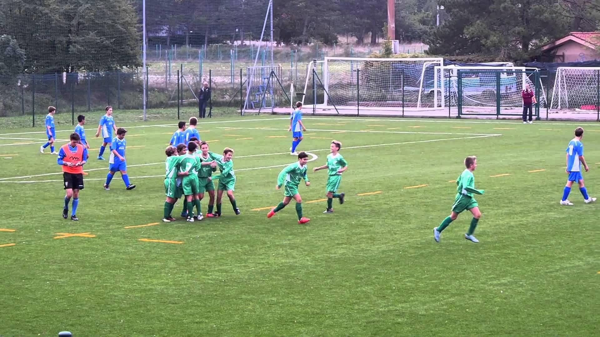 I GOAL e Capriola di Chicco del San Luigi Calcio VS Pieris ...