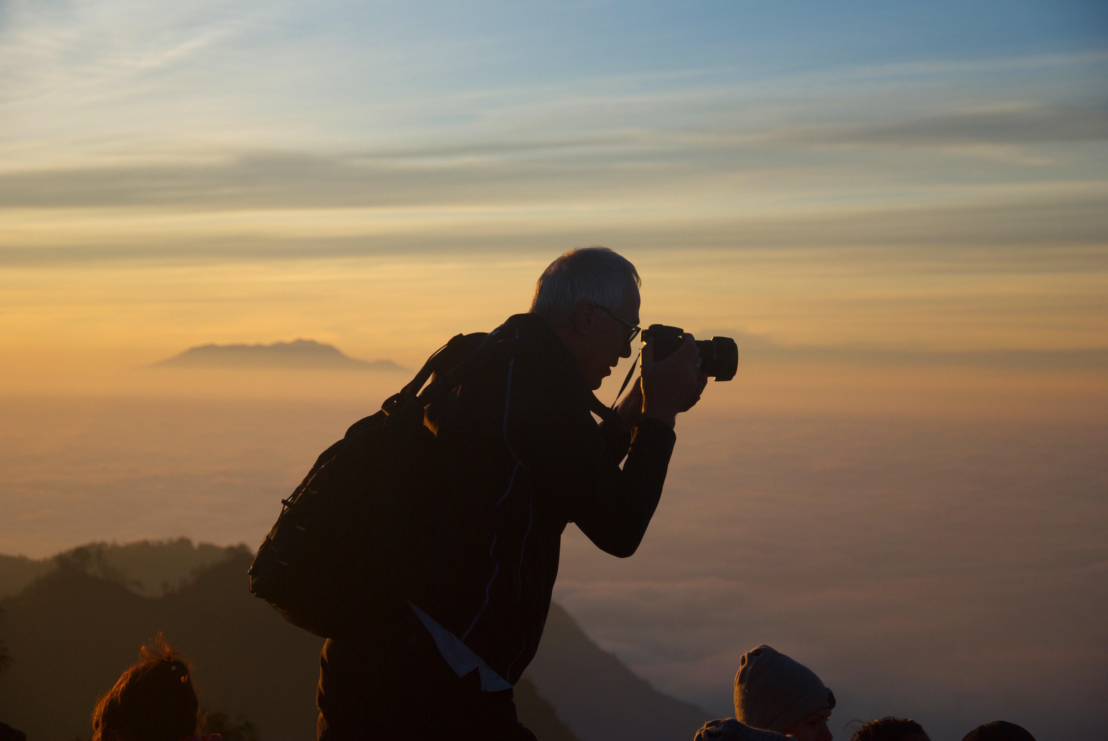 Capturing nature photo