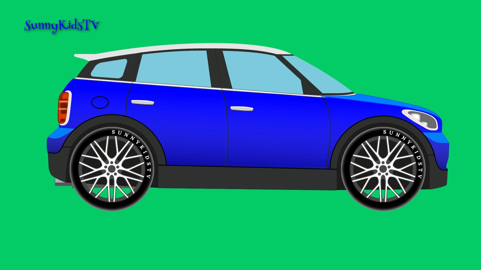 Cars. Car Assembly. Cartoon. - YouTube