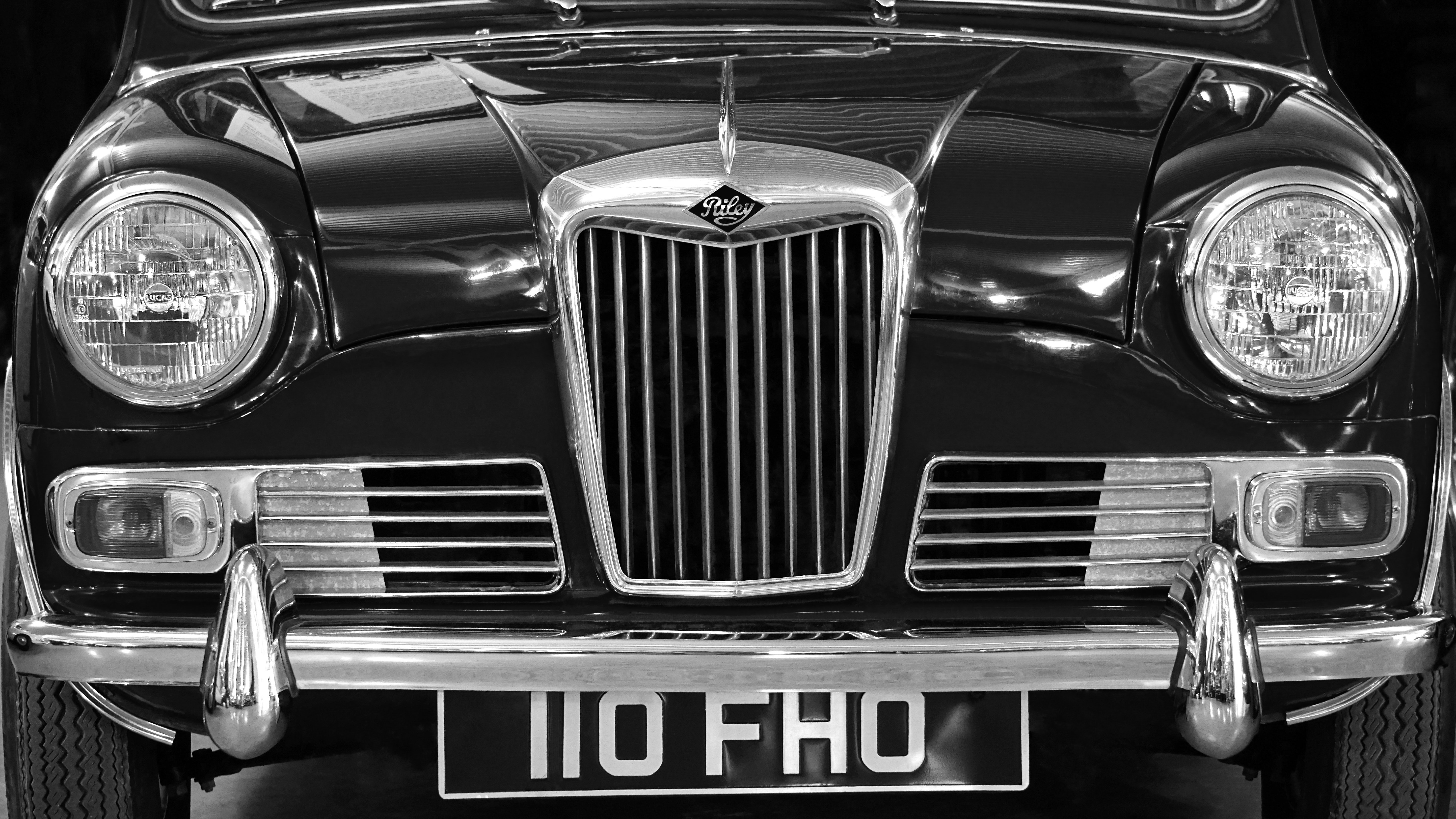 Free photo: Car in Front View Showing Grille - vehicle, vintage ...